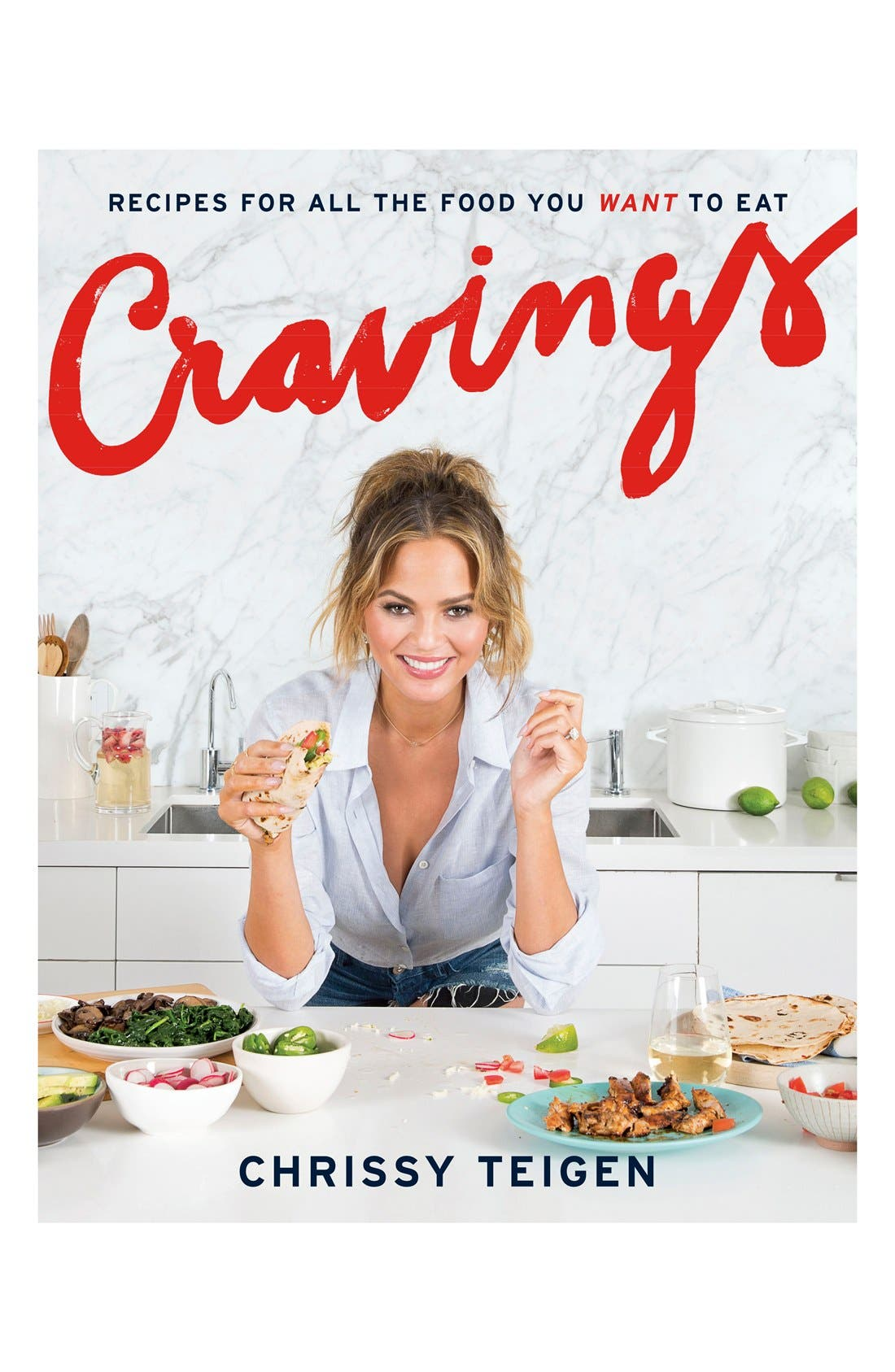 Alternate Image 1 Selected - Cravings: Recipes for all the Foods You Want to Eat Cookbook