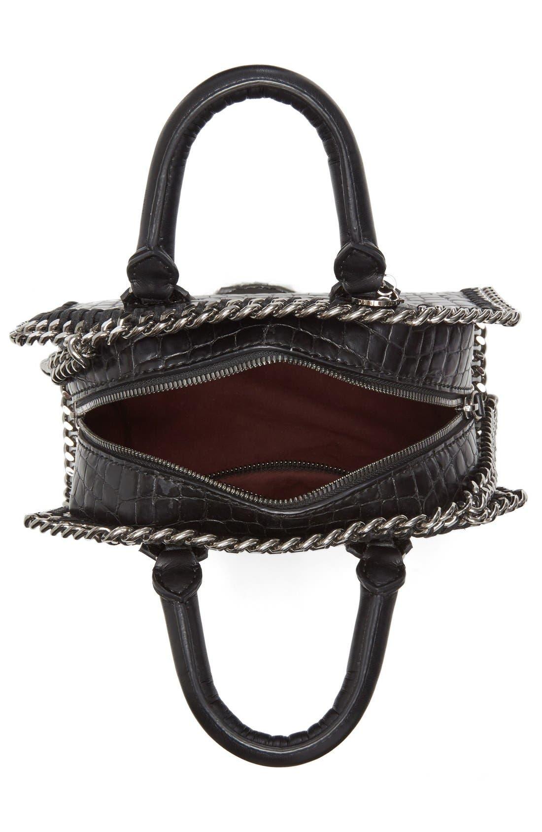 Alternate Image 3  - Stella McCartney Mini Falabella Faux Leather Box Satchel