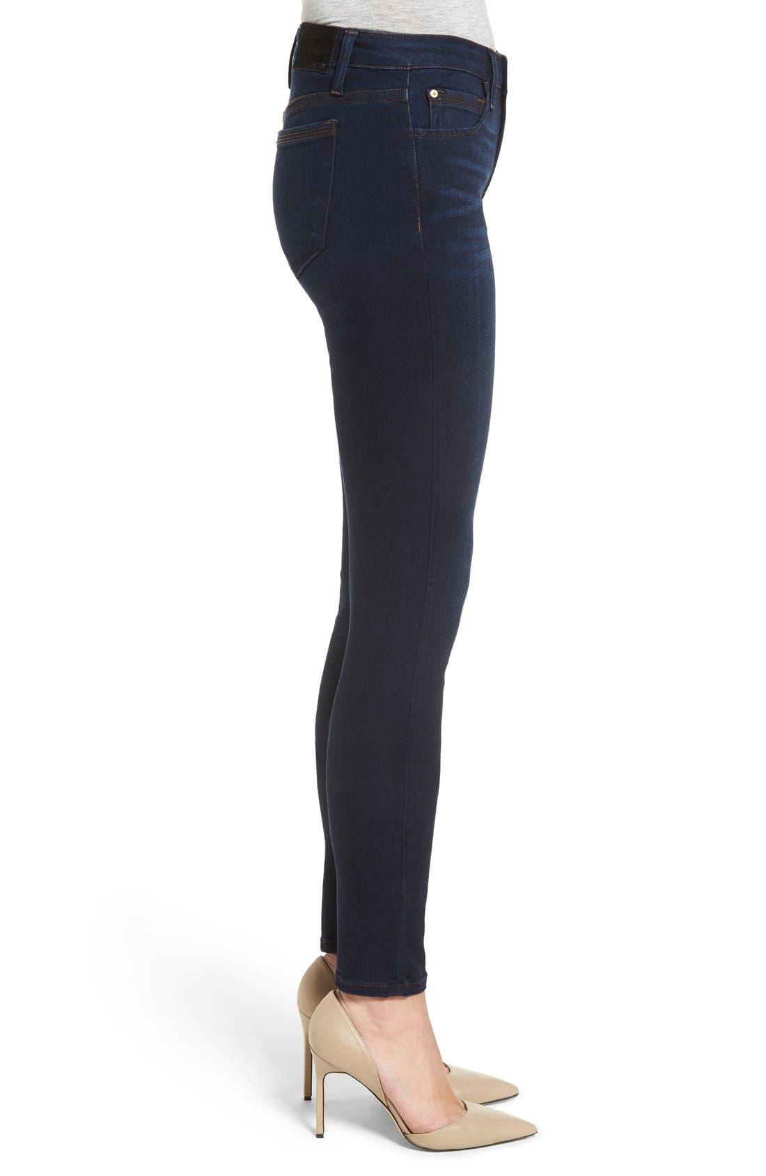 Alternate Image 3  - Joe's 'Flawless - Honey' Curvy Skinny Jeans (Selma)