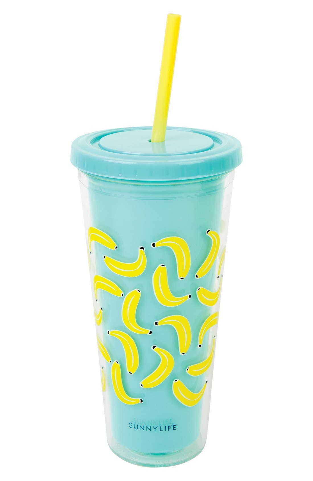 SUNNYLIFE Print Double Walled Tumbler