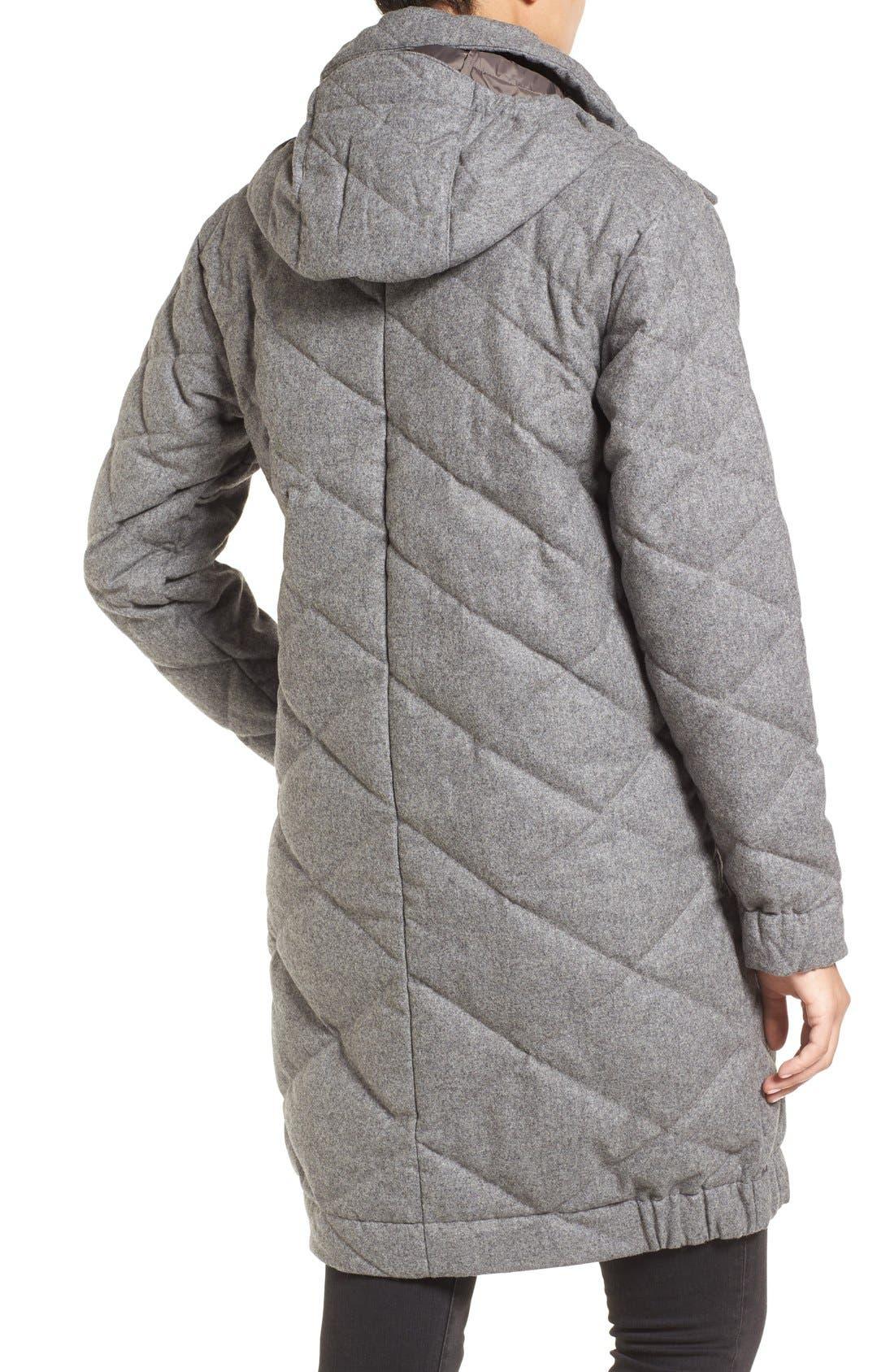Alternate Image 2  - Nau Wool Blend Quilted Down Coat