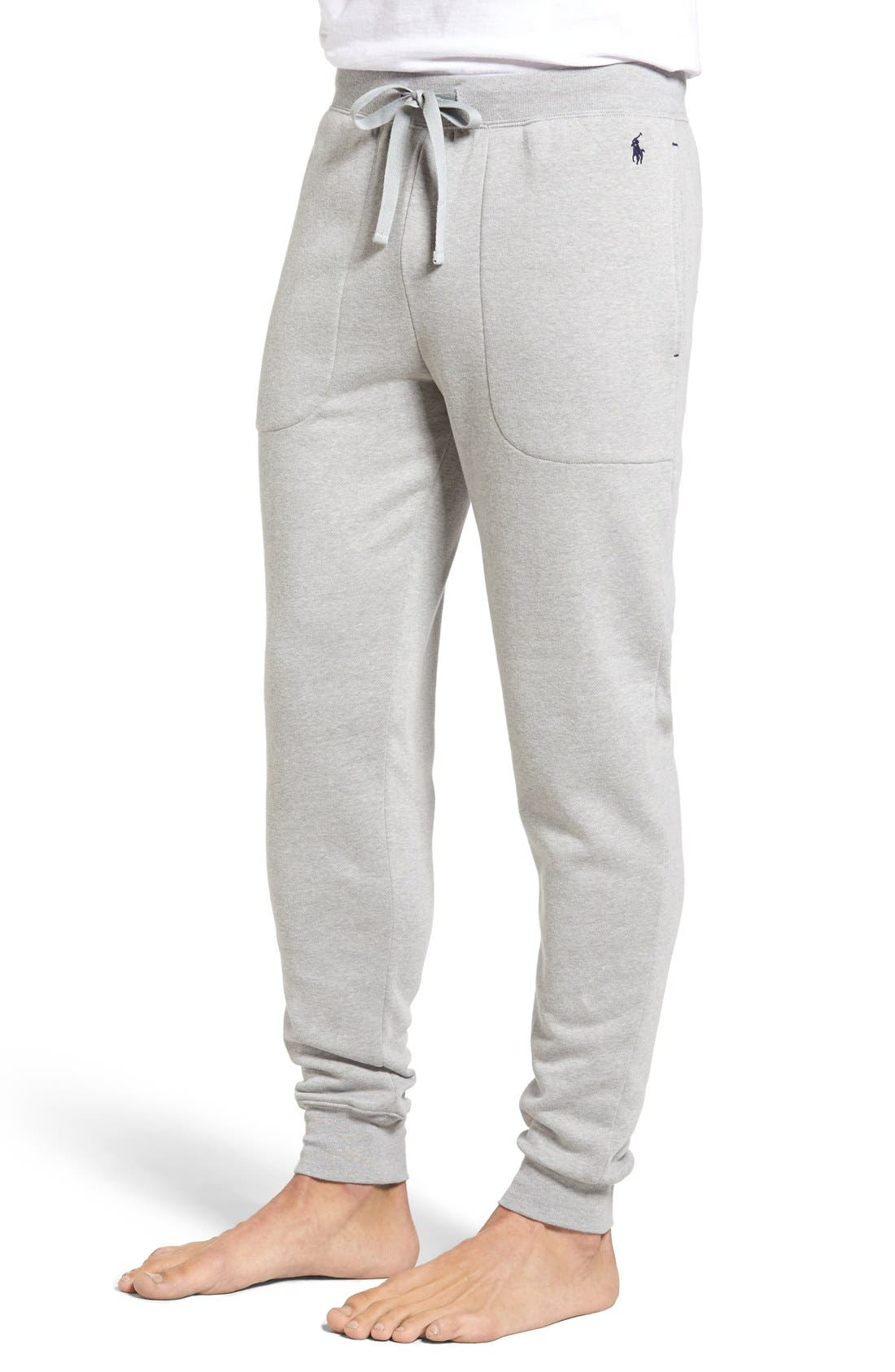 Alternate Image 3  - Polo Ralph Lauren Brushed Jersey Cotton Blend Jogger Pants
