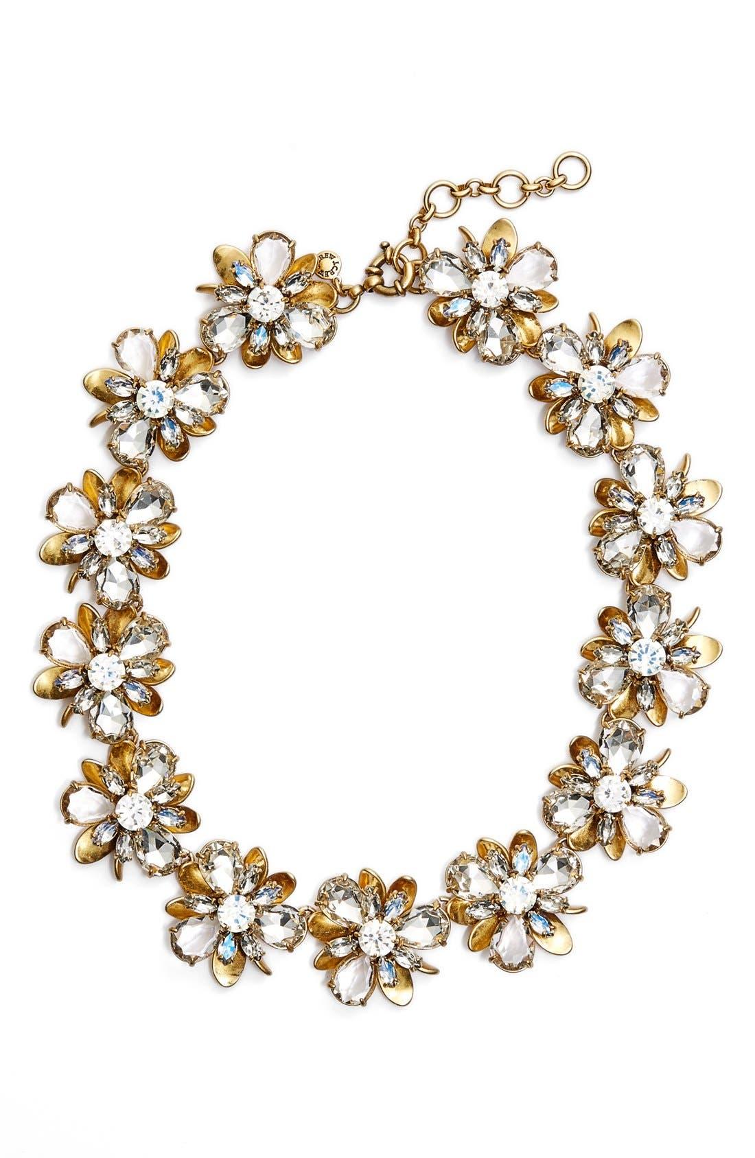 Alternate Image 3  - J.Crew 'Crystal Blossom' Necklace