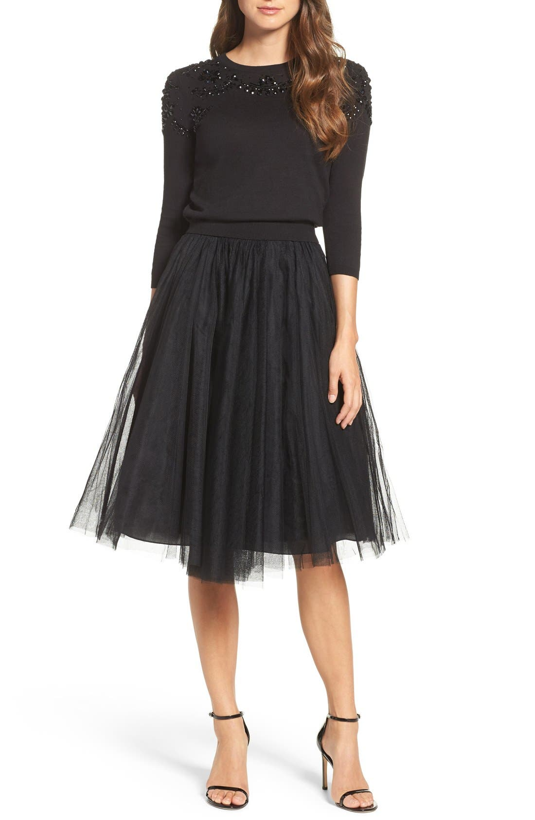Alternate Image 6  - Jenny Yoo 'Lucy' Tulle Skirt