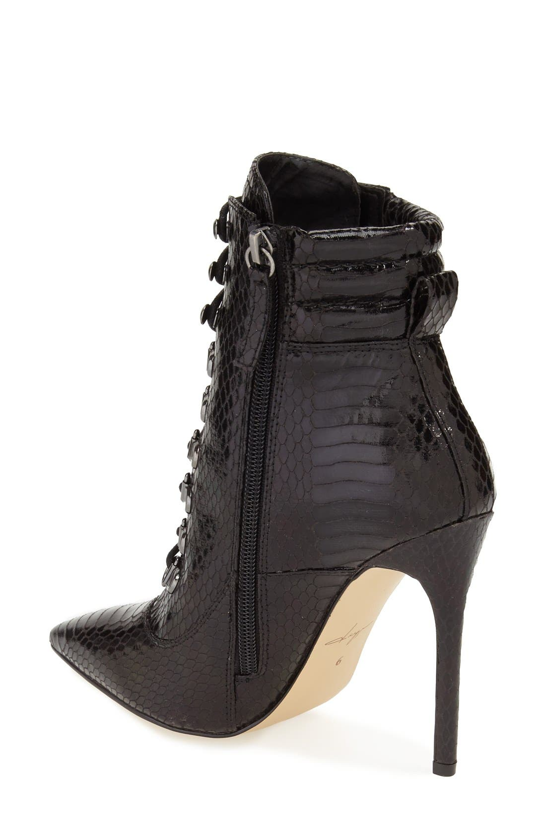 Alternate Image 2  - Daya by Zendaya 'Kettle' Corset Lace Pointy Toe Boot