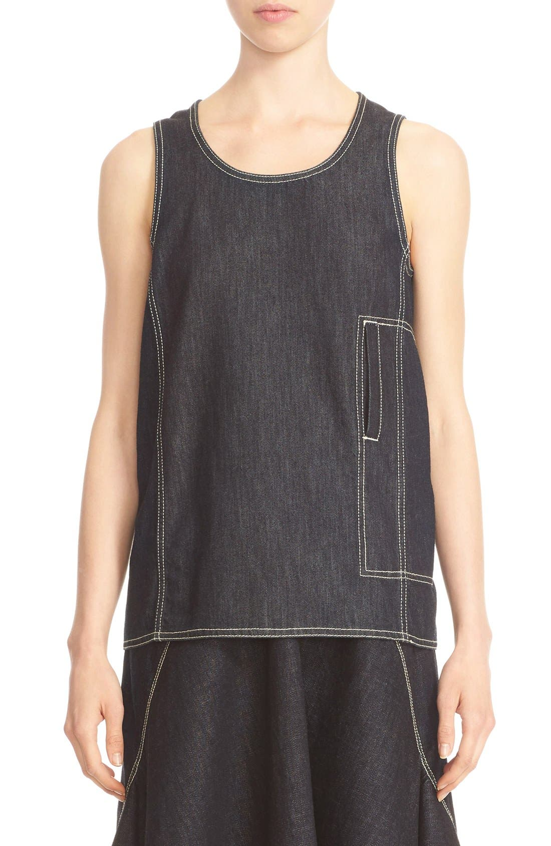 MARNI Denim Tank