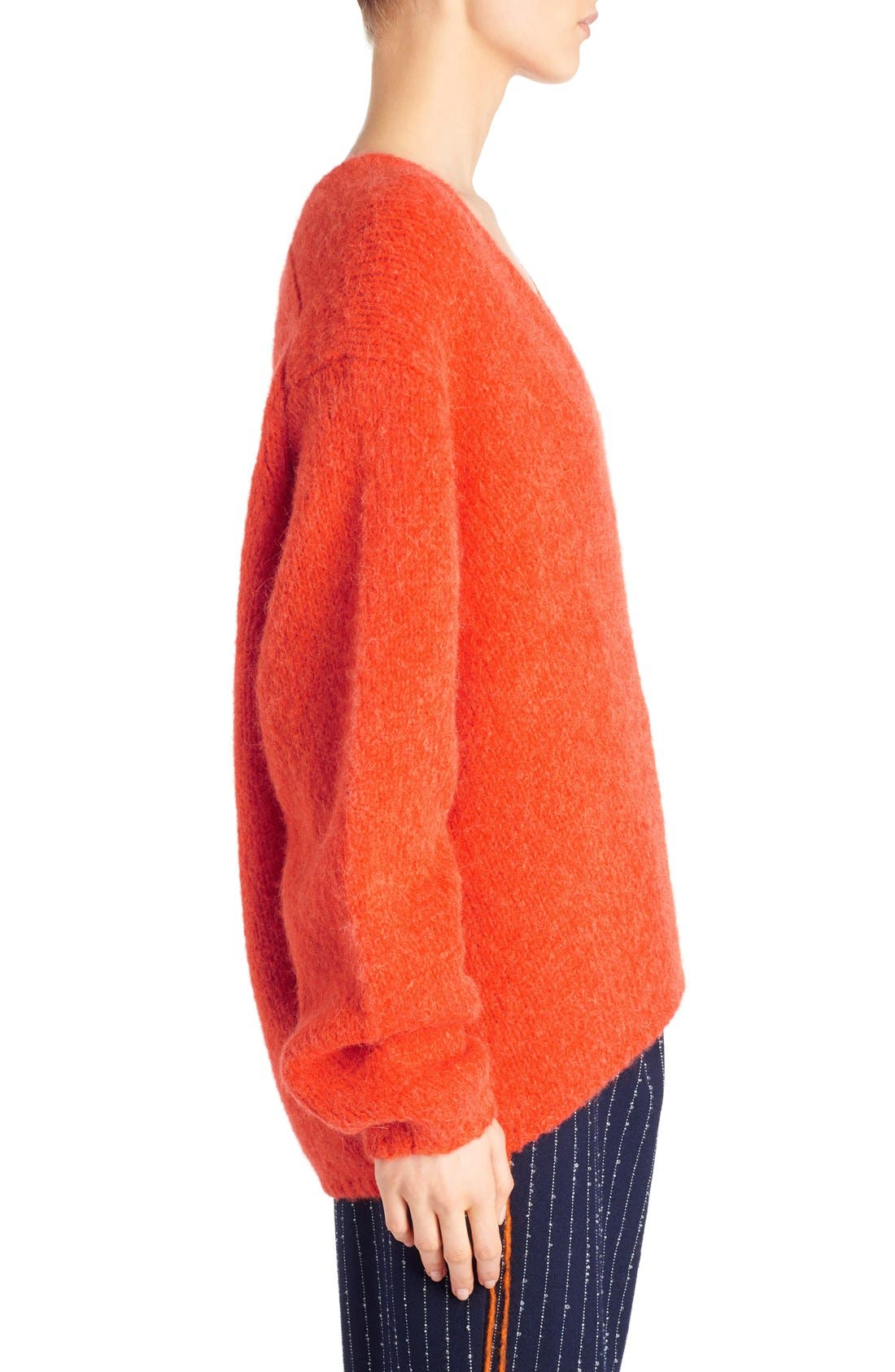 Alternate Image 4  - ACNE Studios 'Deborah' Oversized Alpaca Blend Sweater