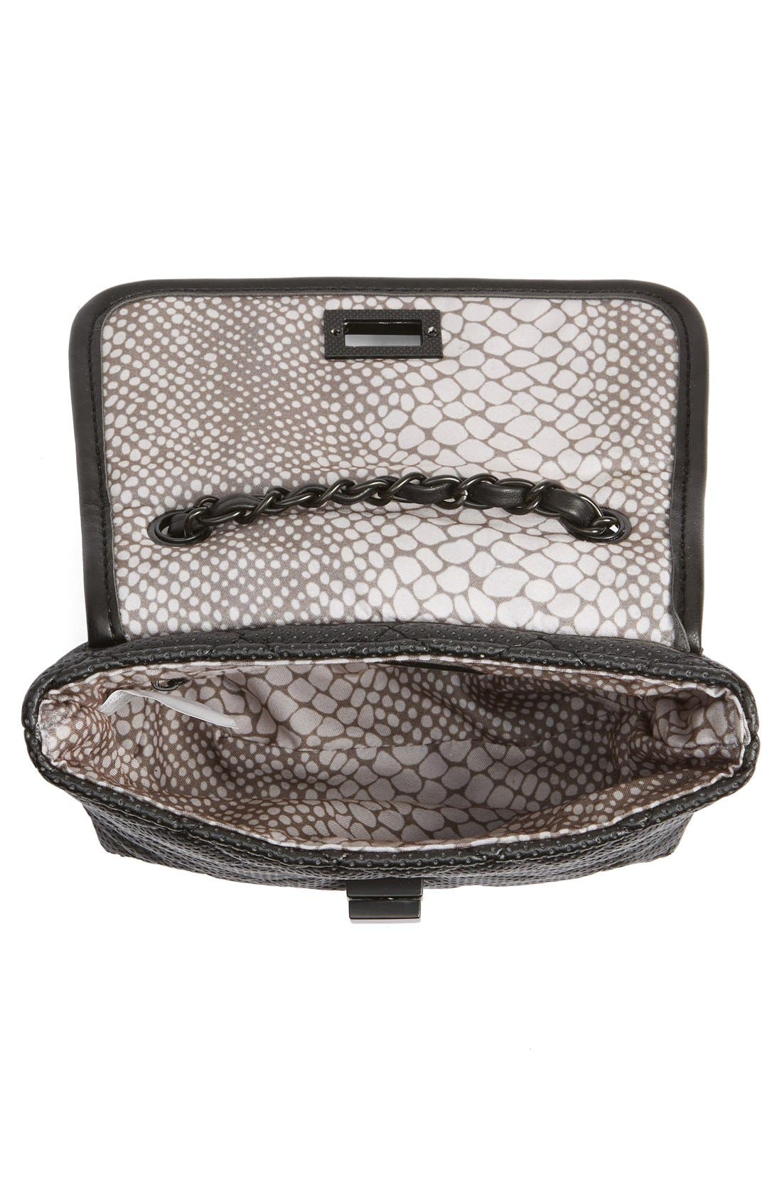 Alternate Image 3  - Steve Madden 'B Clarre' Perforated & Quilted Faux Leather Crossbody Bag