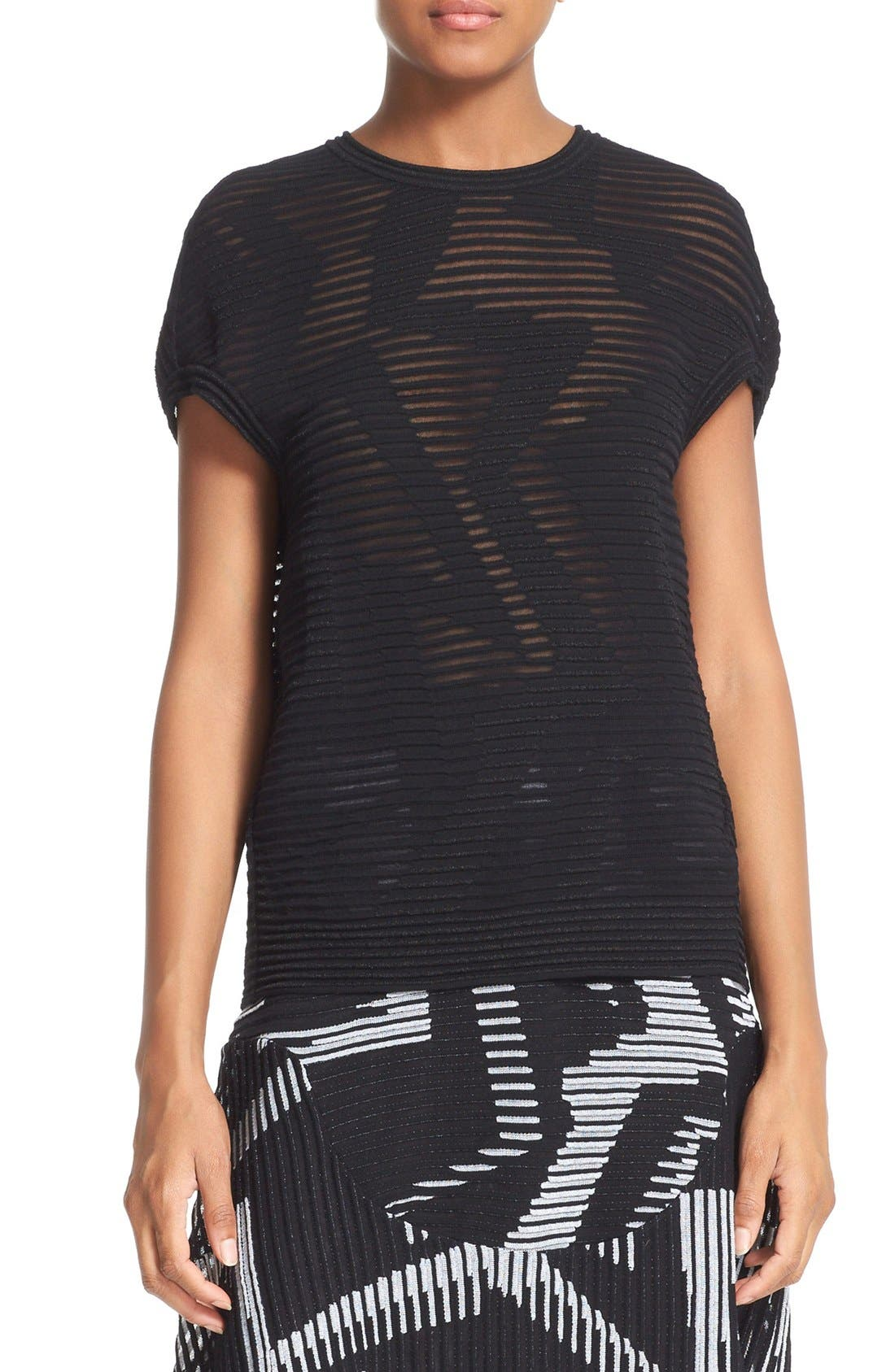 M MISSONI Rib Stitch Top