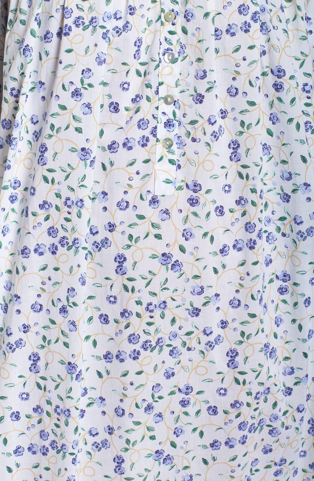 Alternate Image 5  - Elileen West Cotton Nightgown