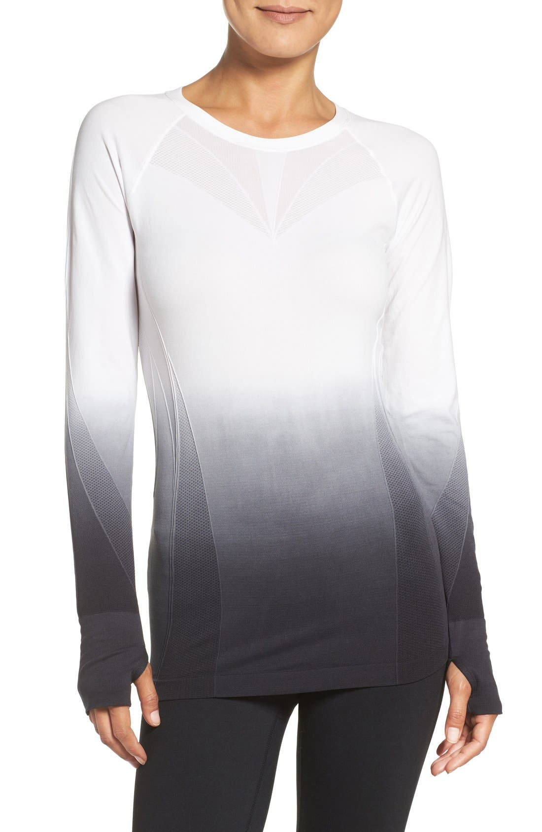CLIMAWEAR Dip Dye Long Sleeve Top