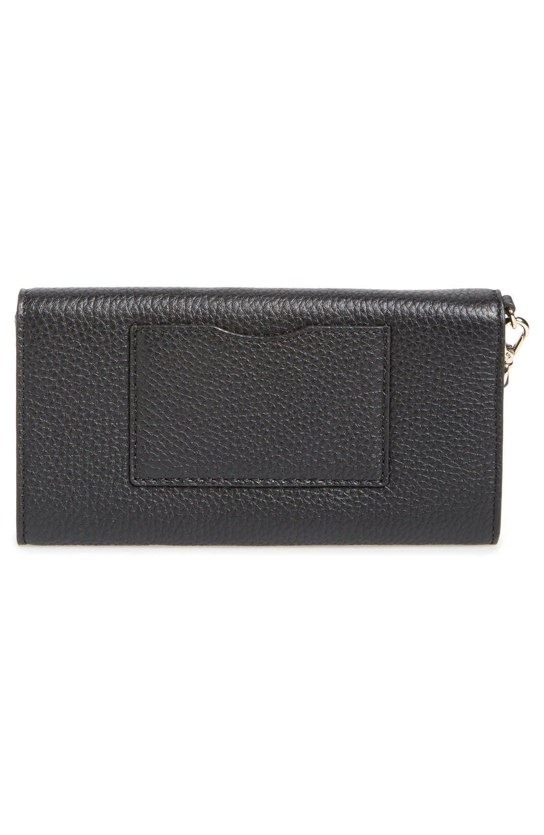 Alternate Image 4  - kate spade new york 'cobble hill - rae' leather wristlet wallet