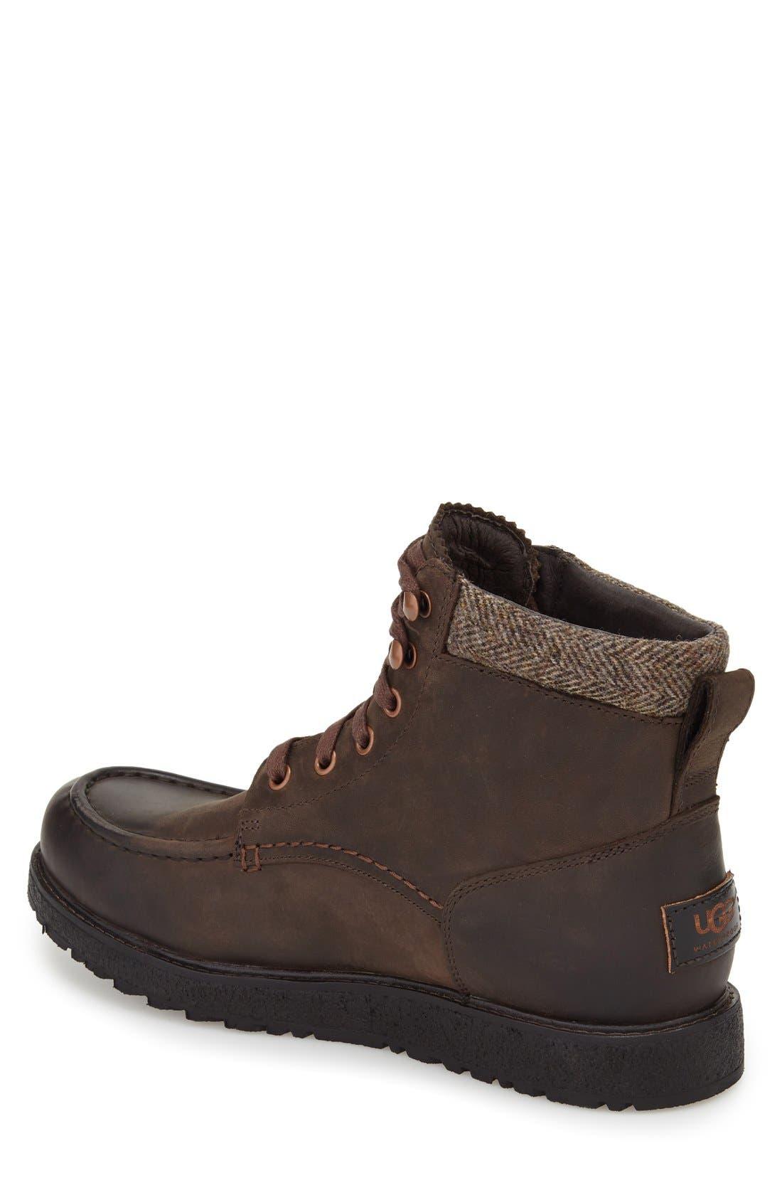Alternate Image 2  - UGG® Merrick Moc Toe Boot (Men)