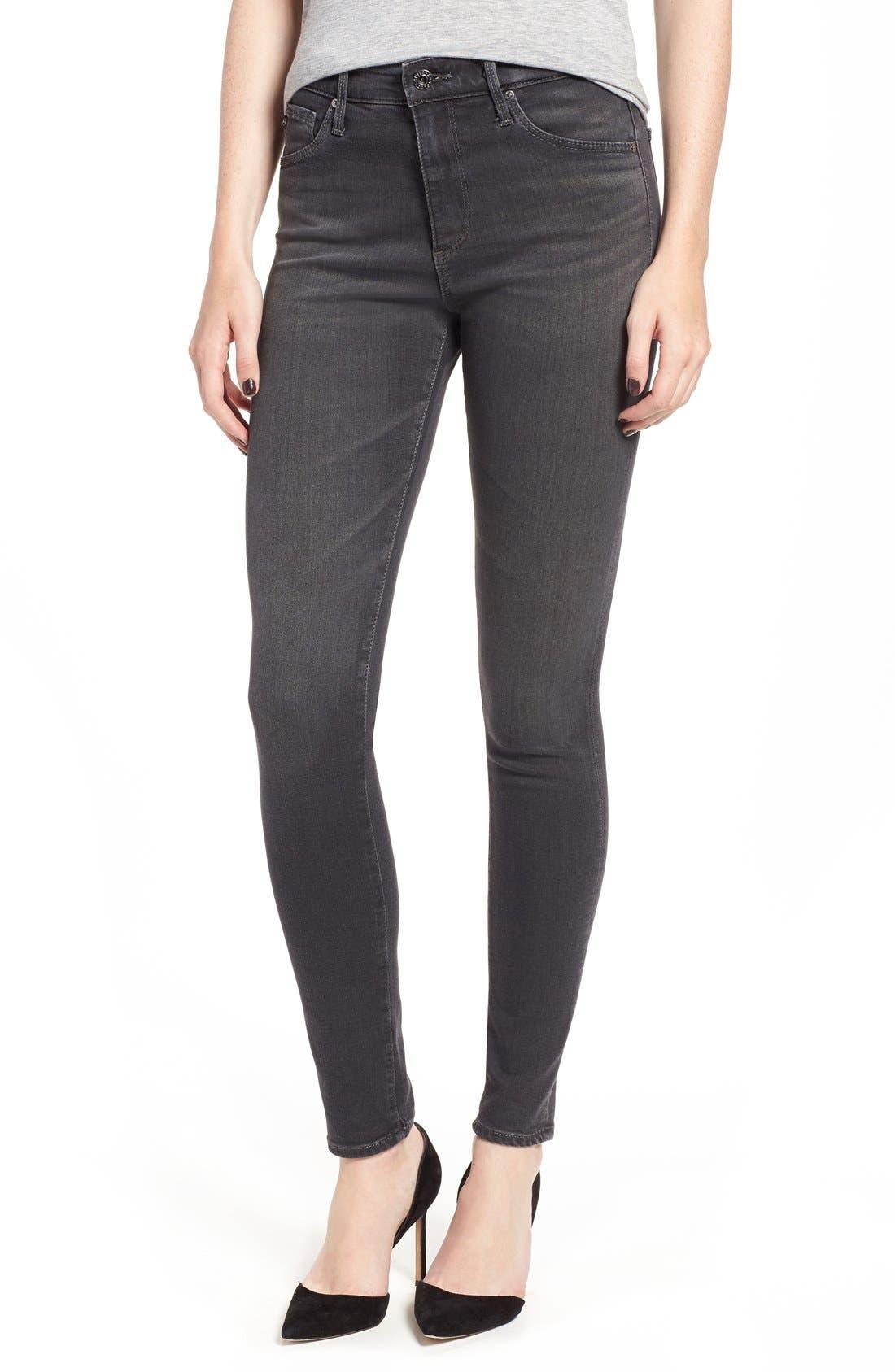 AG Farrah High WaistSkinny Jeans