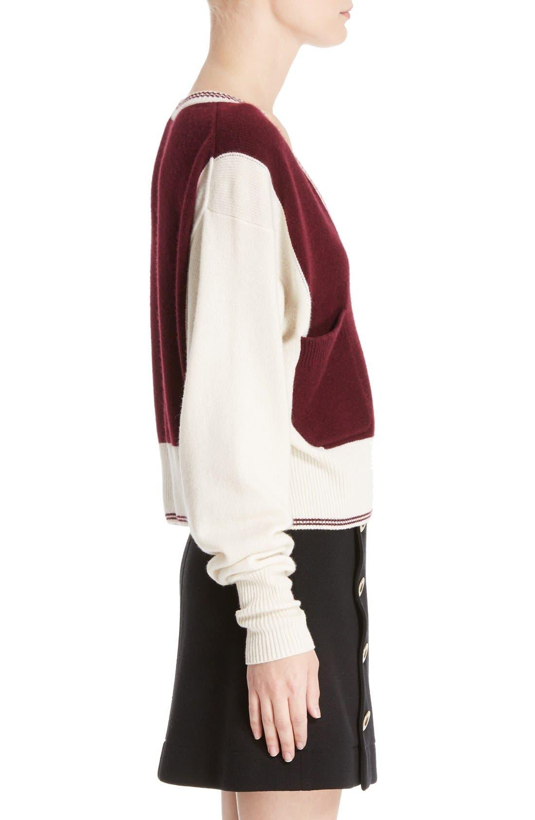 Alternate Image 4  - Chloé Bicolor Sweater