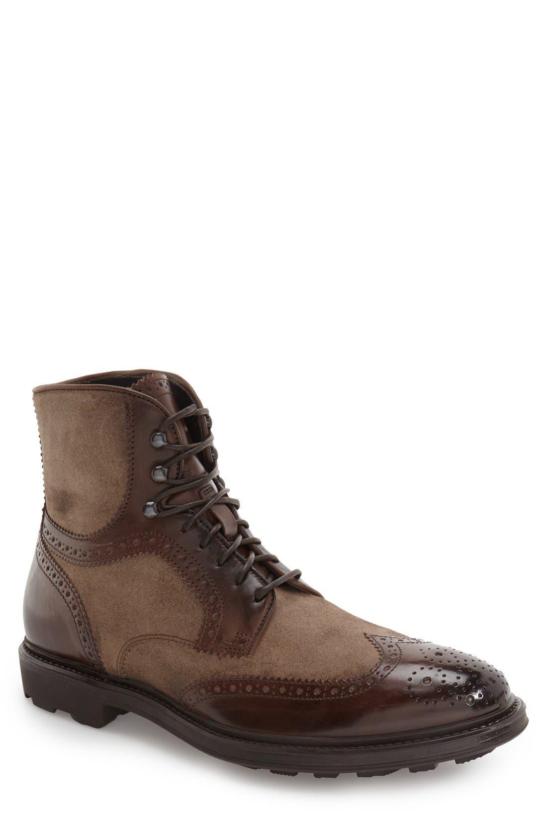 To Boot New York 'Hobson' Wingtip Boot (Men)