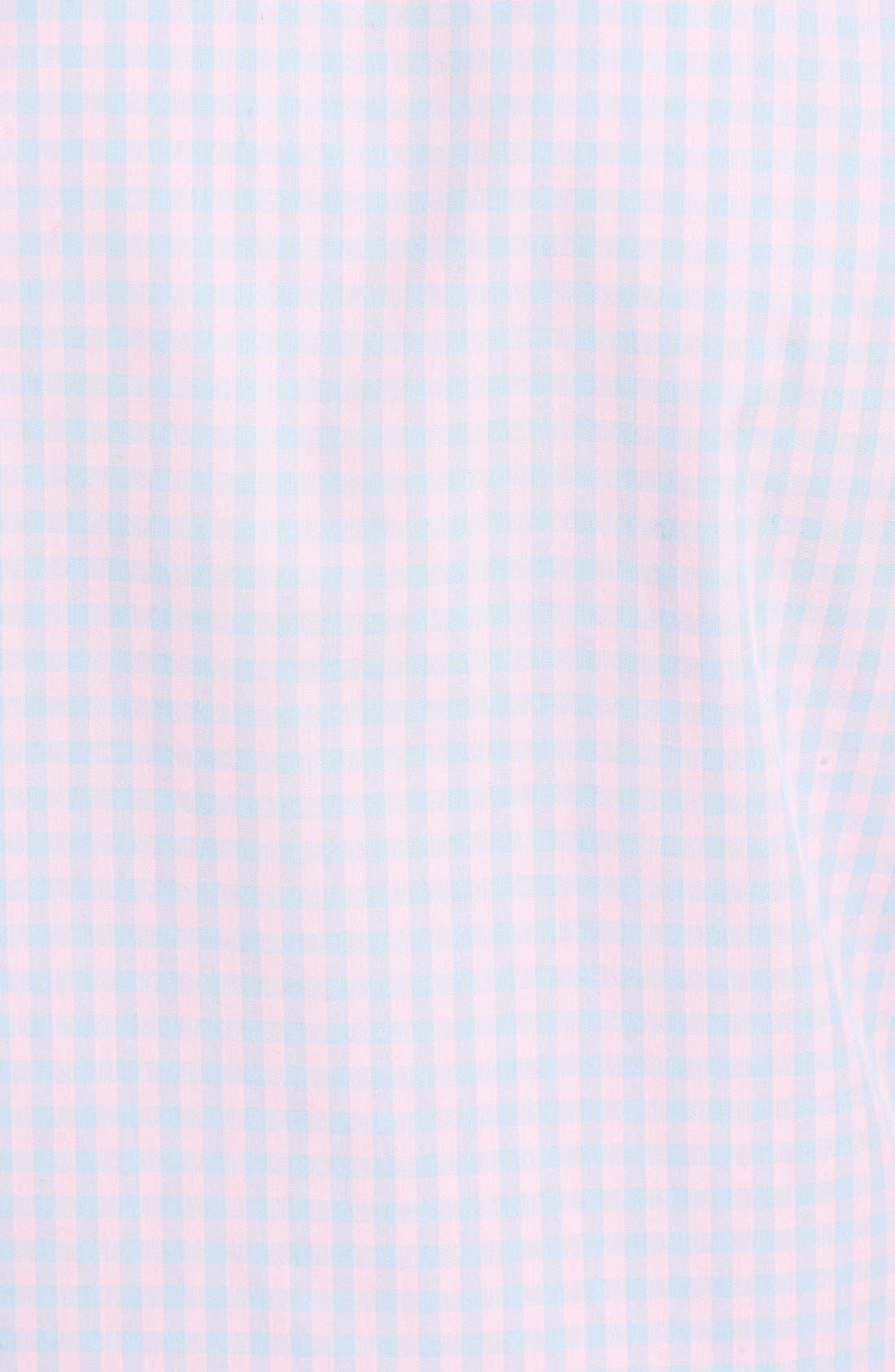 Alternate Image 5  - Nordstrom Men's Shop Smartcare™ Regular Fit Check Sport Shirt (Tall)