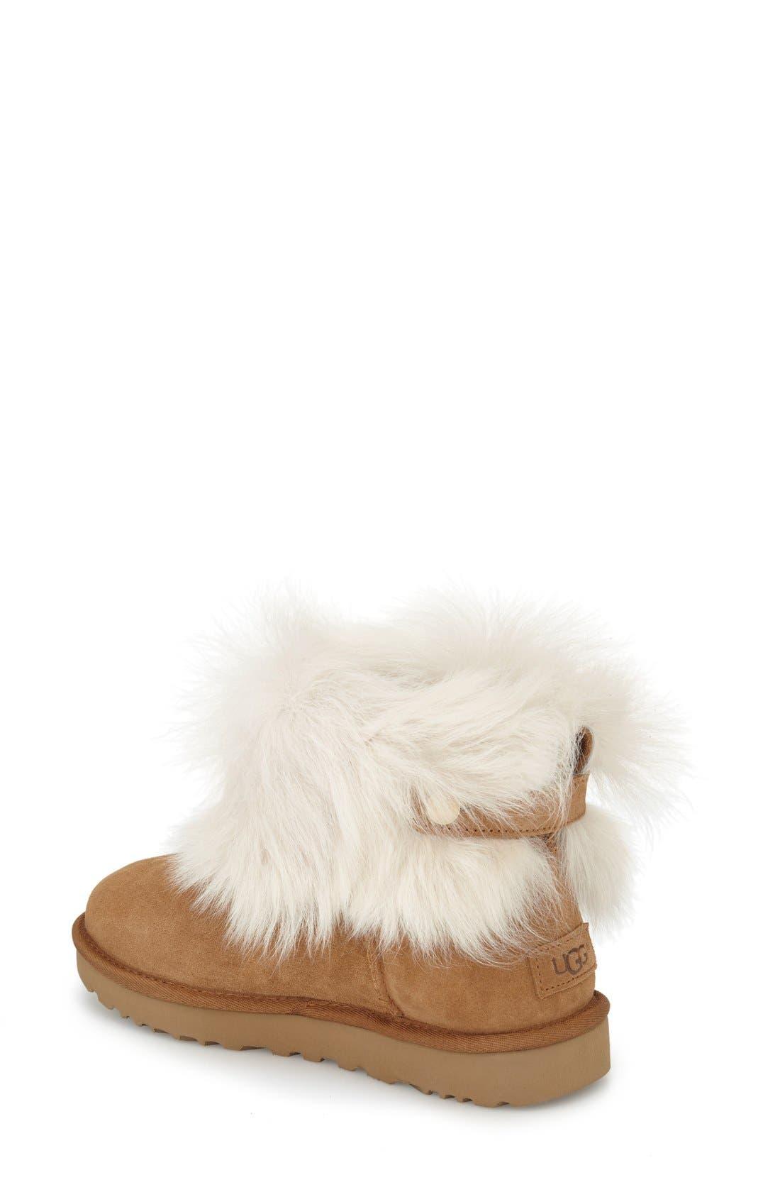 Alternate Image 2  - UGG® 'Valentina' Genuine Shearling Cuff Boot (Women)
