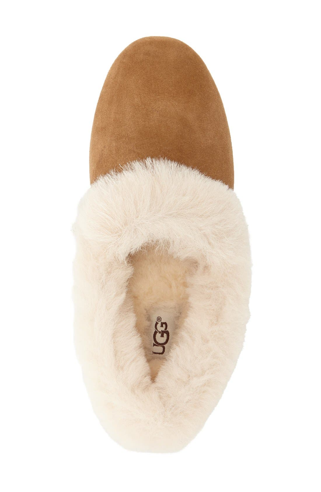 Alternate Image 4  - UGG® Kendyl Genuine Shearling Slipper (Women)