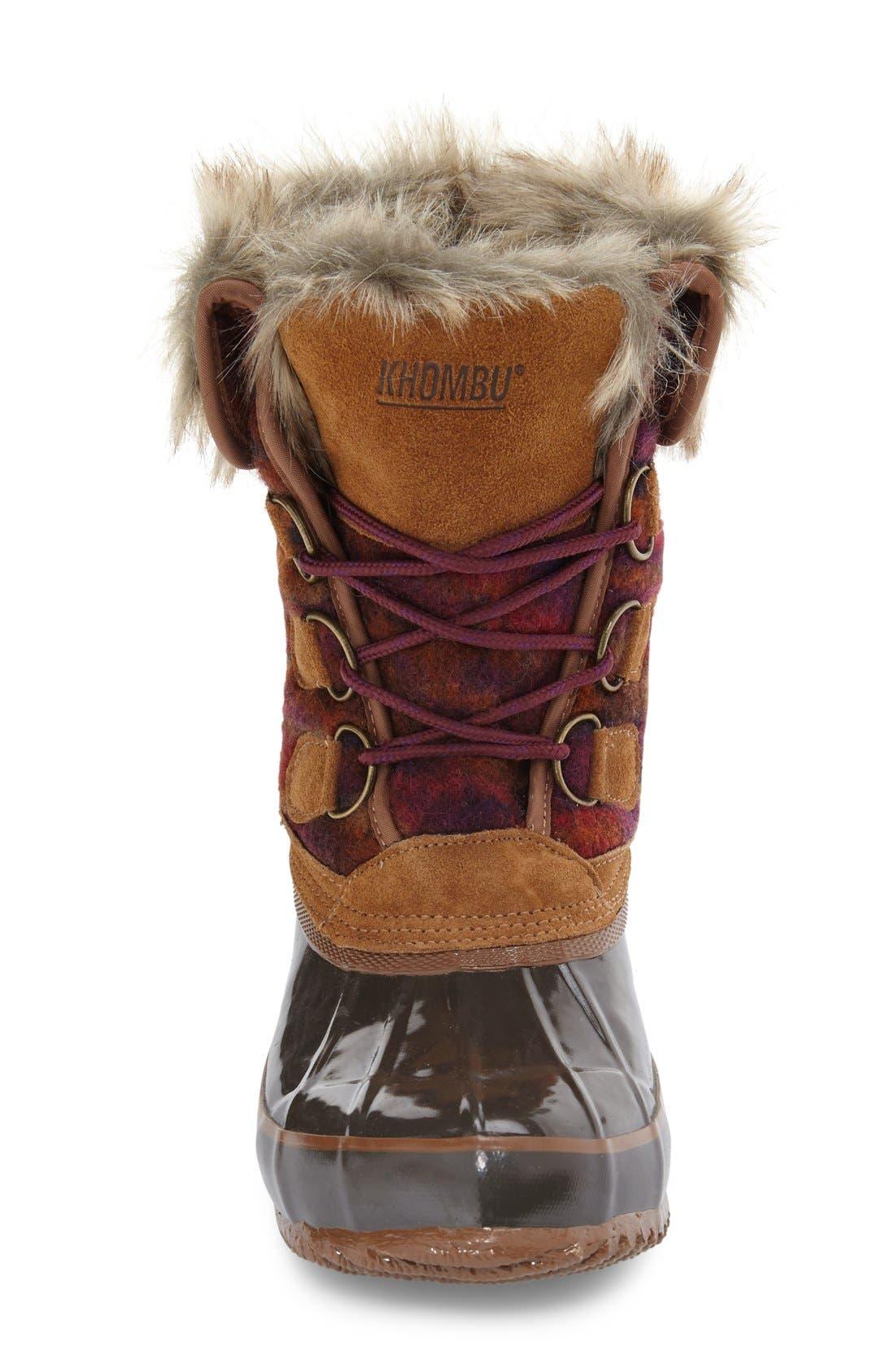 Alternate Image 3  - Khombu Lace-Up Winter Boot (Women)