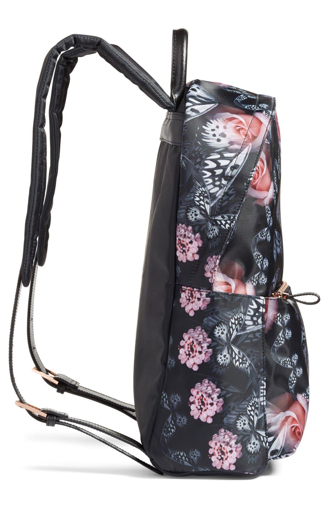 Alternate Image 5  - Ted Baker London Dynamic Butterfly Print Backpack