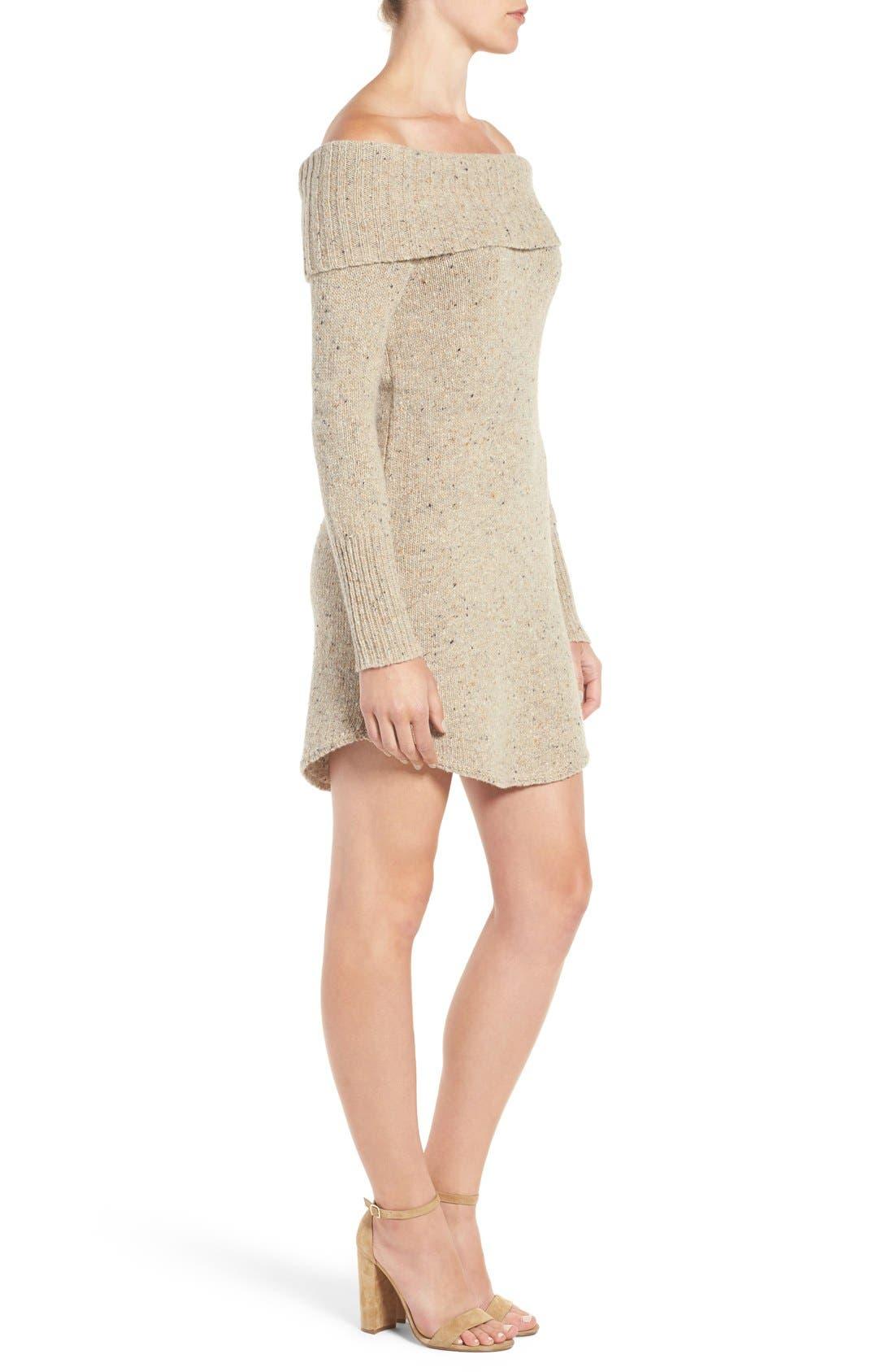 Alternate Image 3  - Rebecca Minkoff Erid Off the Shoulder Sweater Dress