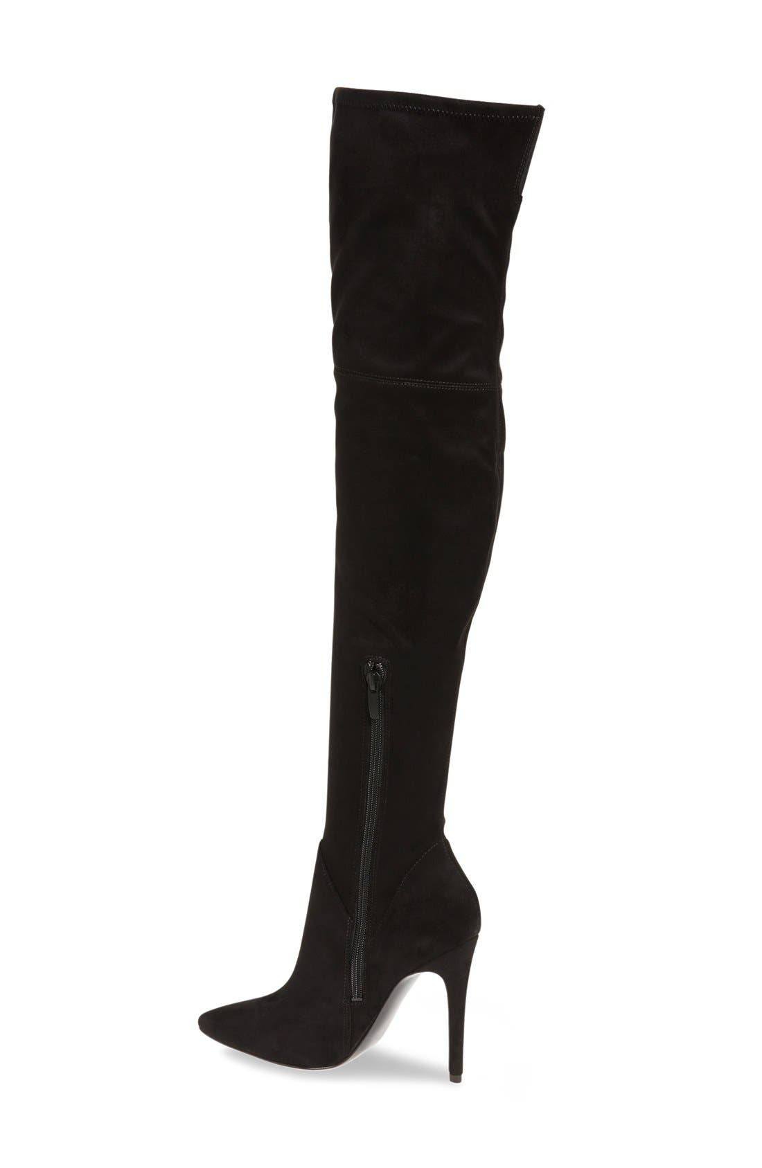 Alternate Image 2  - KENDALL + KYLIE Kayla Stretch Over the Knee Boot (Women)