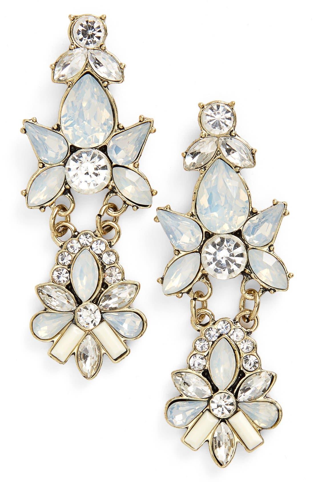 Alternate Image 1 Selected - BP. Crystal Statement Earrings