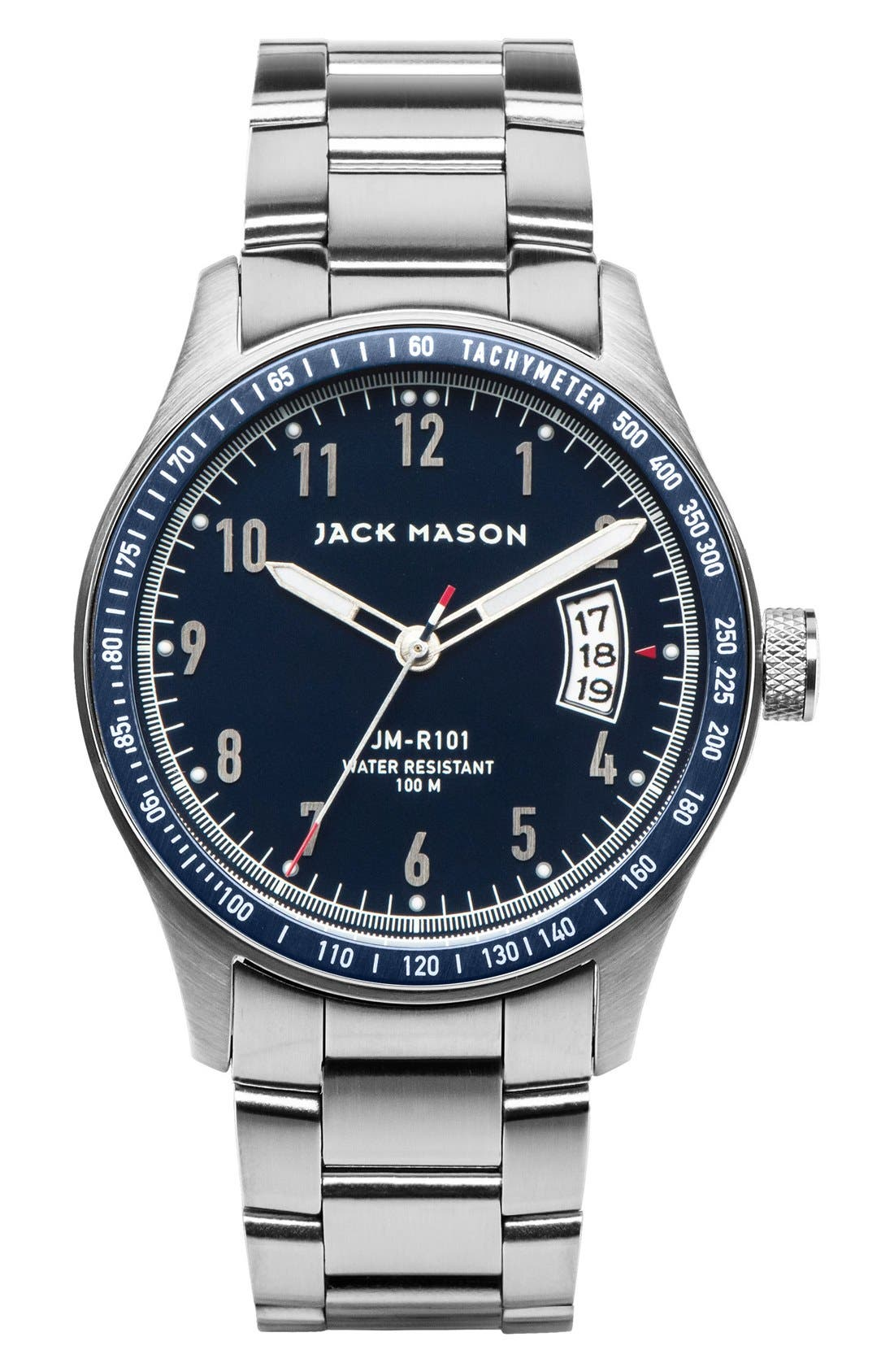 Jack Mason Racing Bracelet Watch, 42mm