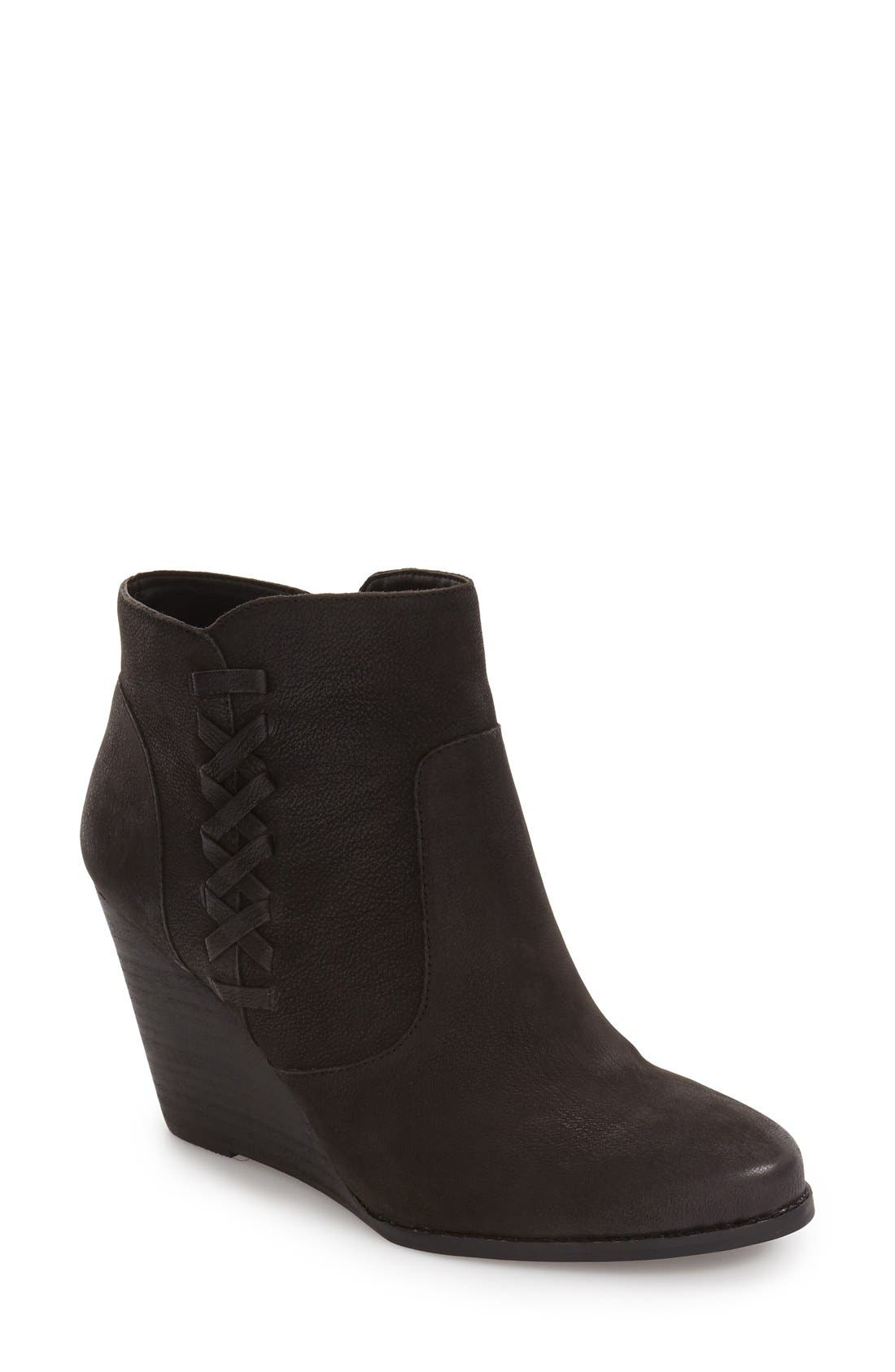 Alternate Image 1 Selected - Jessica Simpson Charee Wedge Bootie (Women)