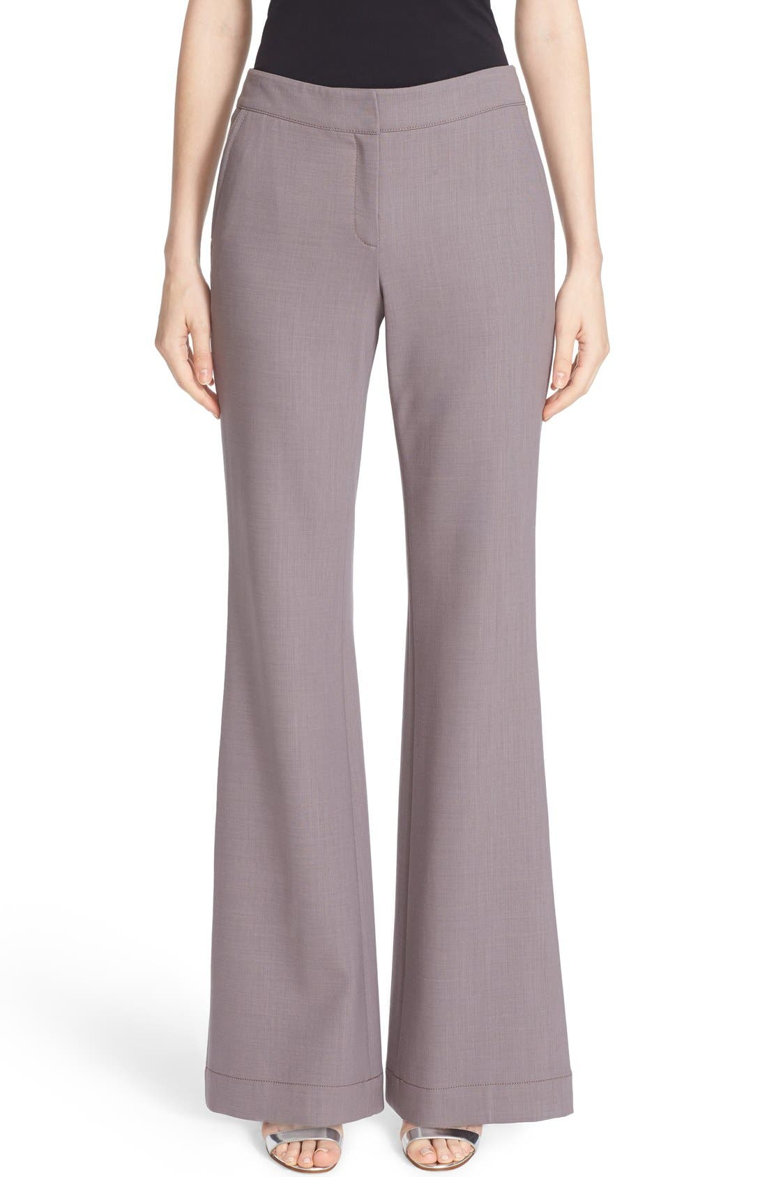 LAFAYETTE 148 NEW YORK Kenmare Stretch Wool Flare