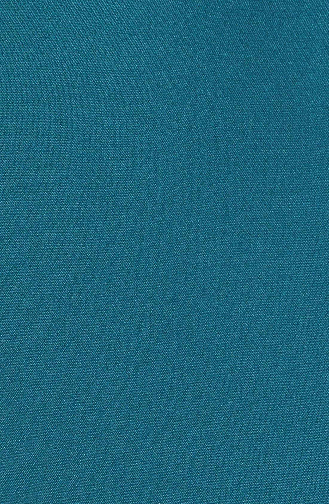 Alternate Image 5  - BOSS Dalana V-Neck Ponte Sheath Dress