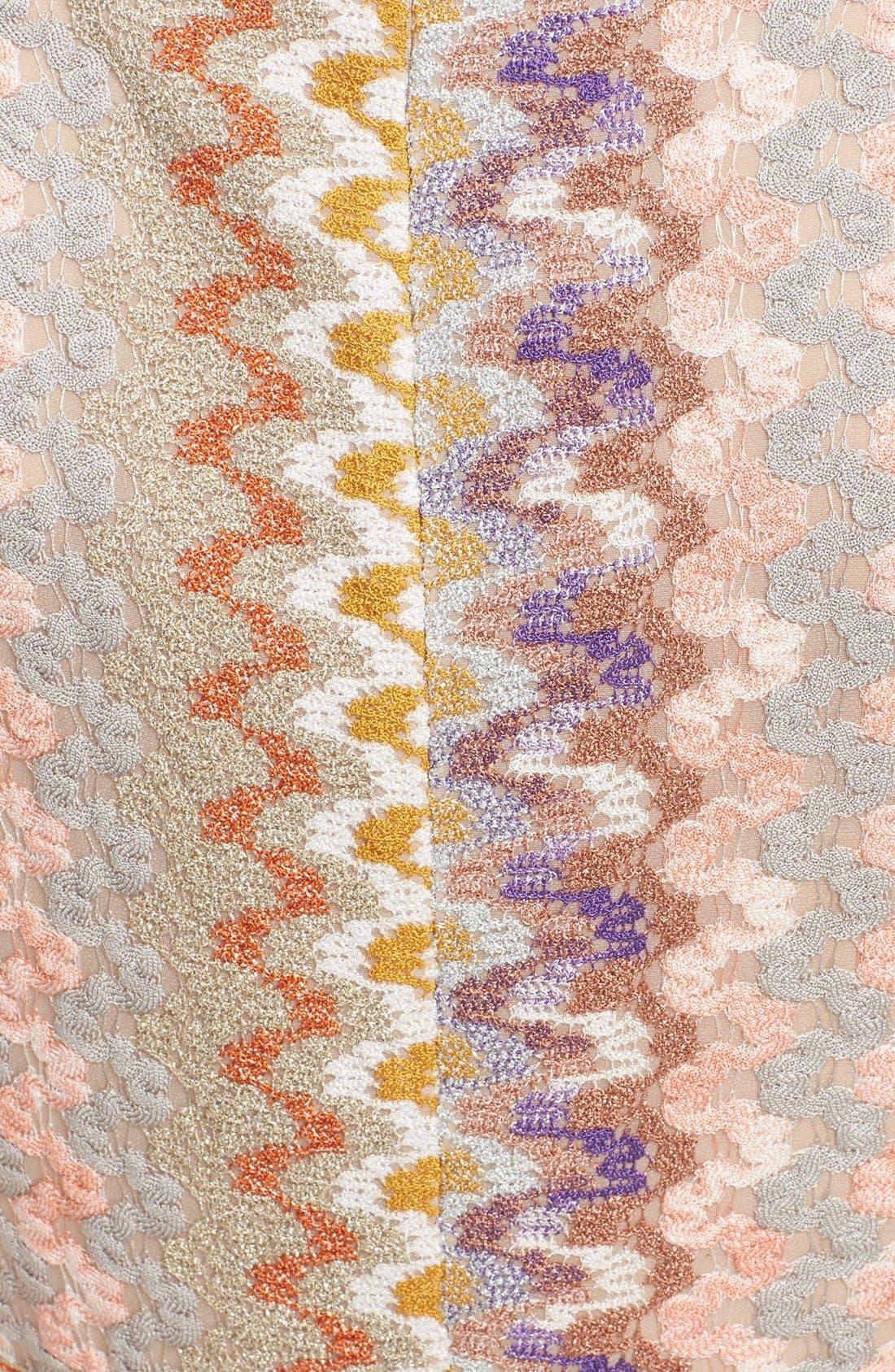 Alternate Image 3  - Missoni Metallic Knit Dress