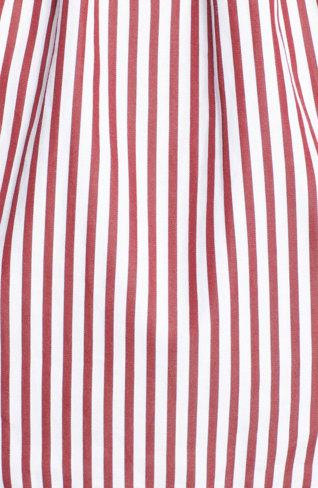 Alternate Image 6  - Victoria, Victoria Beckham Off the Shoulder Smocked Shirt
