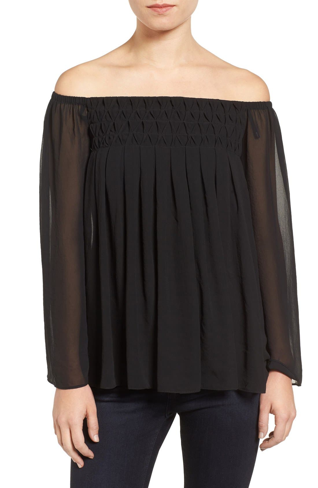 Main Image - Bailey 44 Helena Off the Shoulder Blouse