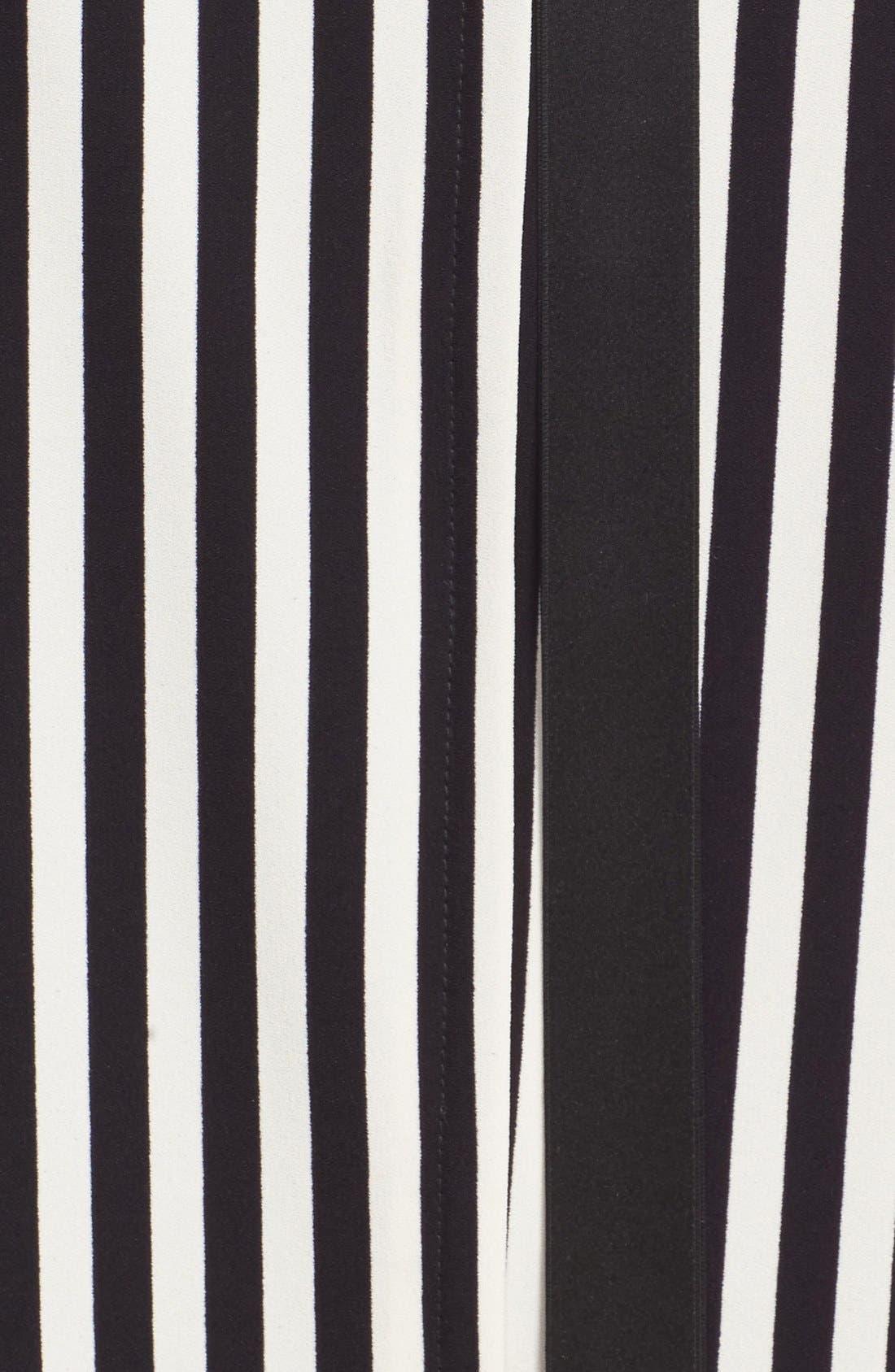 Alternate Image 3  - MARC JACOBS Stripe Crepe Babydoll Dress