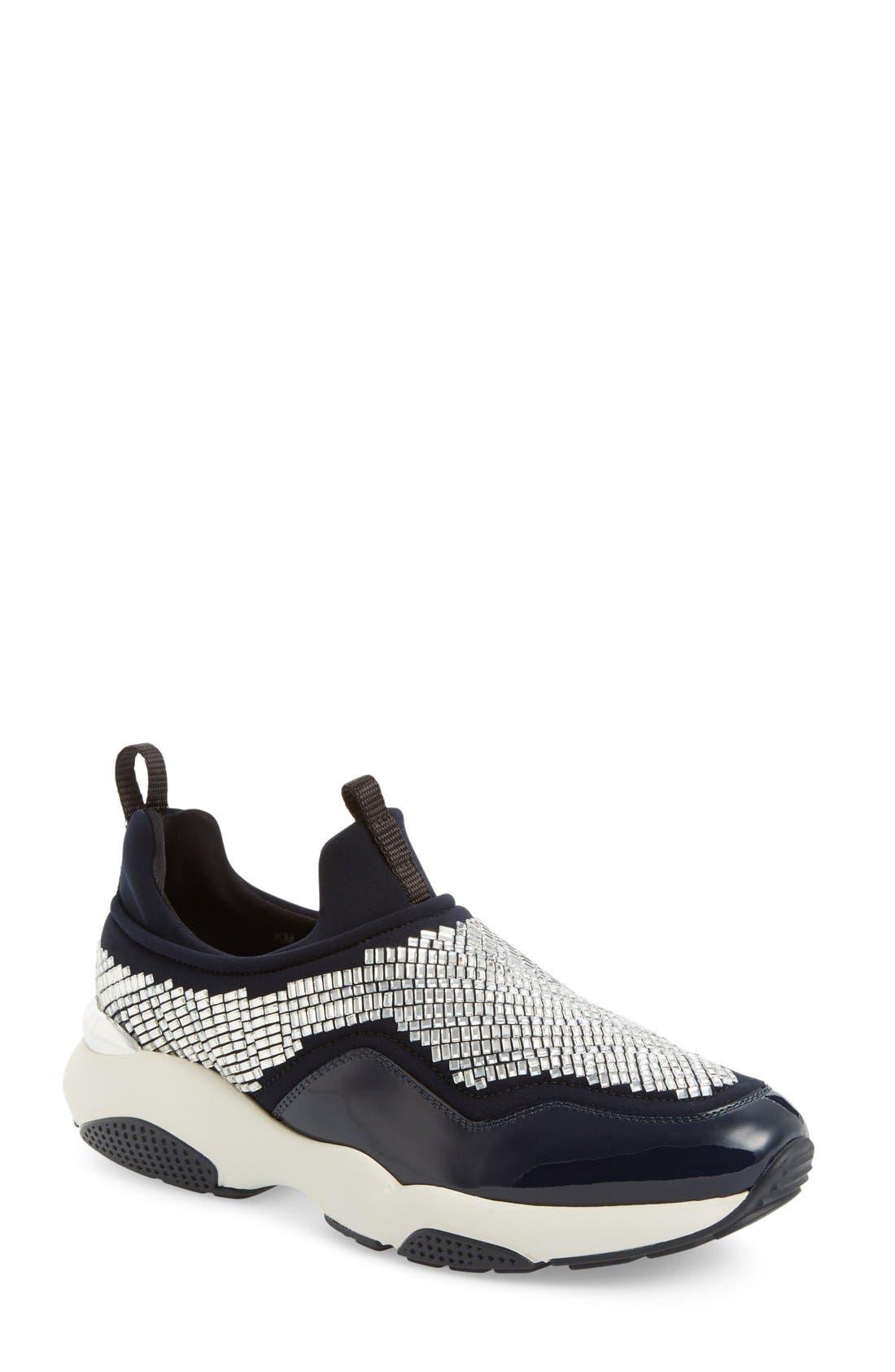 Alternate Image 1 Selected - Salvatore Ferragmo Giolly Slip-On Sneaker (Women)