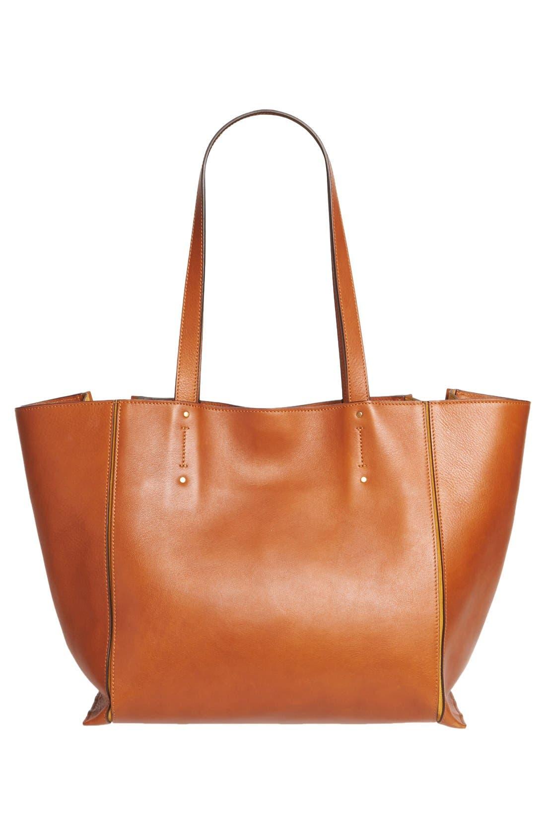 Alternate Image 2  - Chloé Medium Milo Calfskin Leather Tote