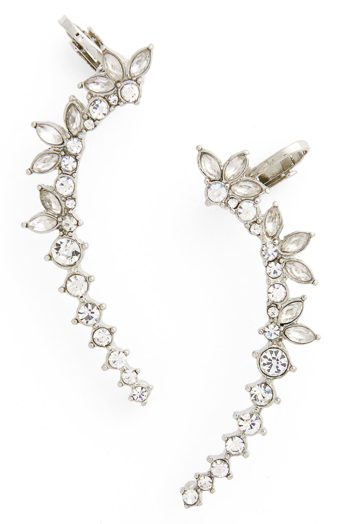 Alternate Image 1 Selected - Topshop Crystal Ear Cuffs