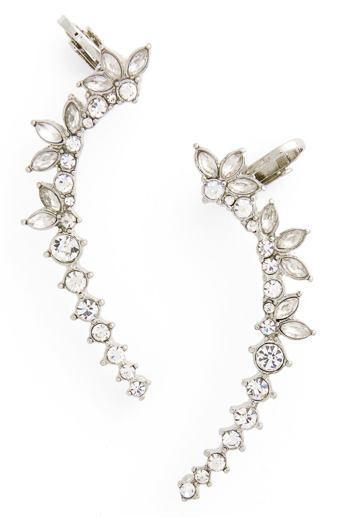 Main Image - Topshop Crystal Ear Cuffs