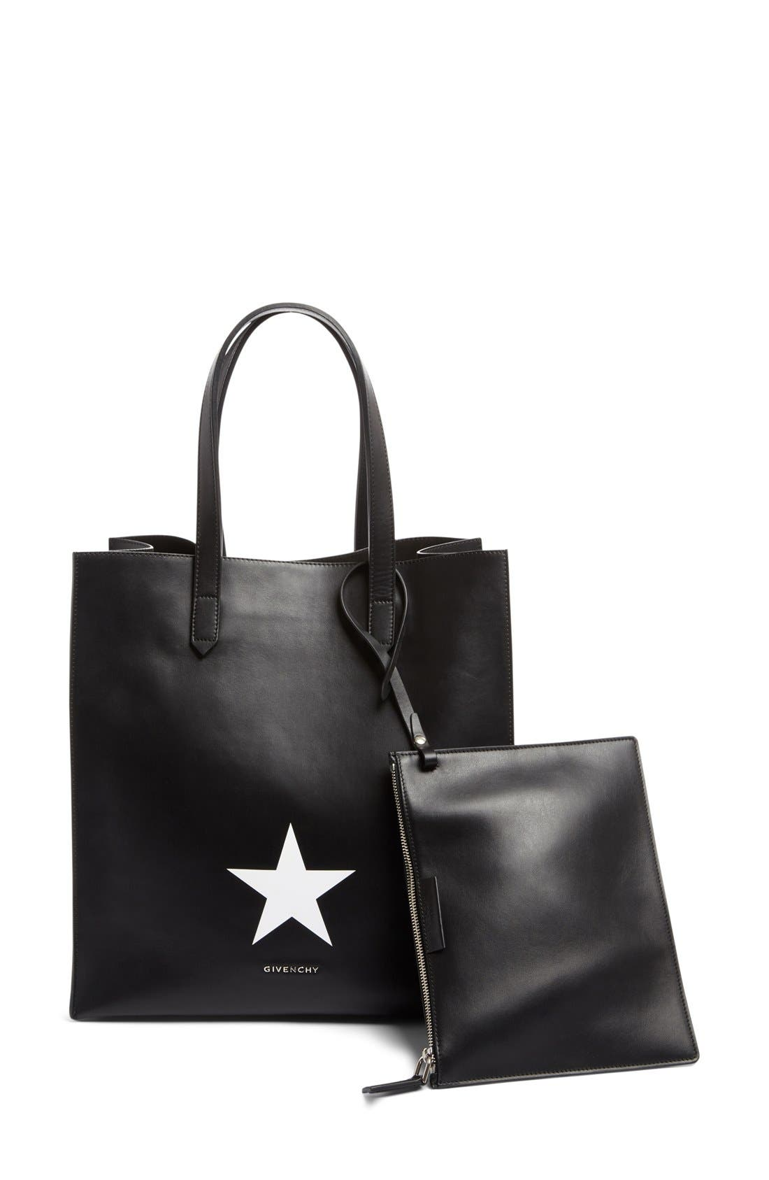 Givenchy Medium Stargate Star Leather Tote