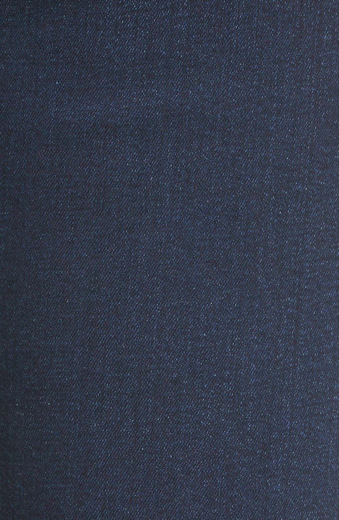 Alternate Image 5  - 7 For All Mankind® b(air) Skinny Jeans (Bair Tranquil Blue)