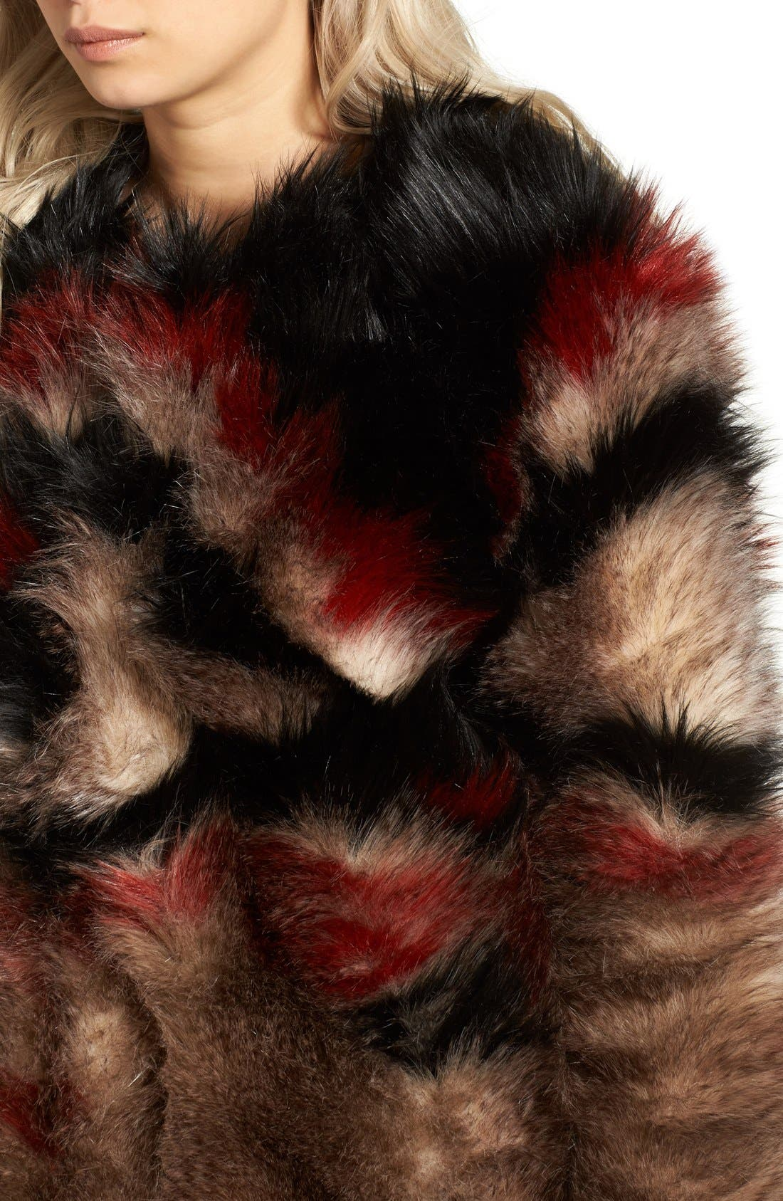 Alternate Image 4  - Free People Scarlet Faux Fur Jacket