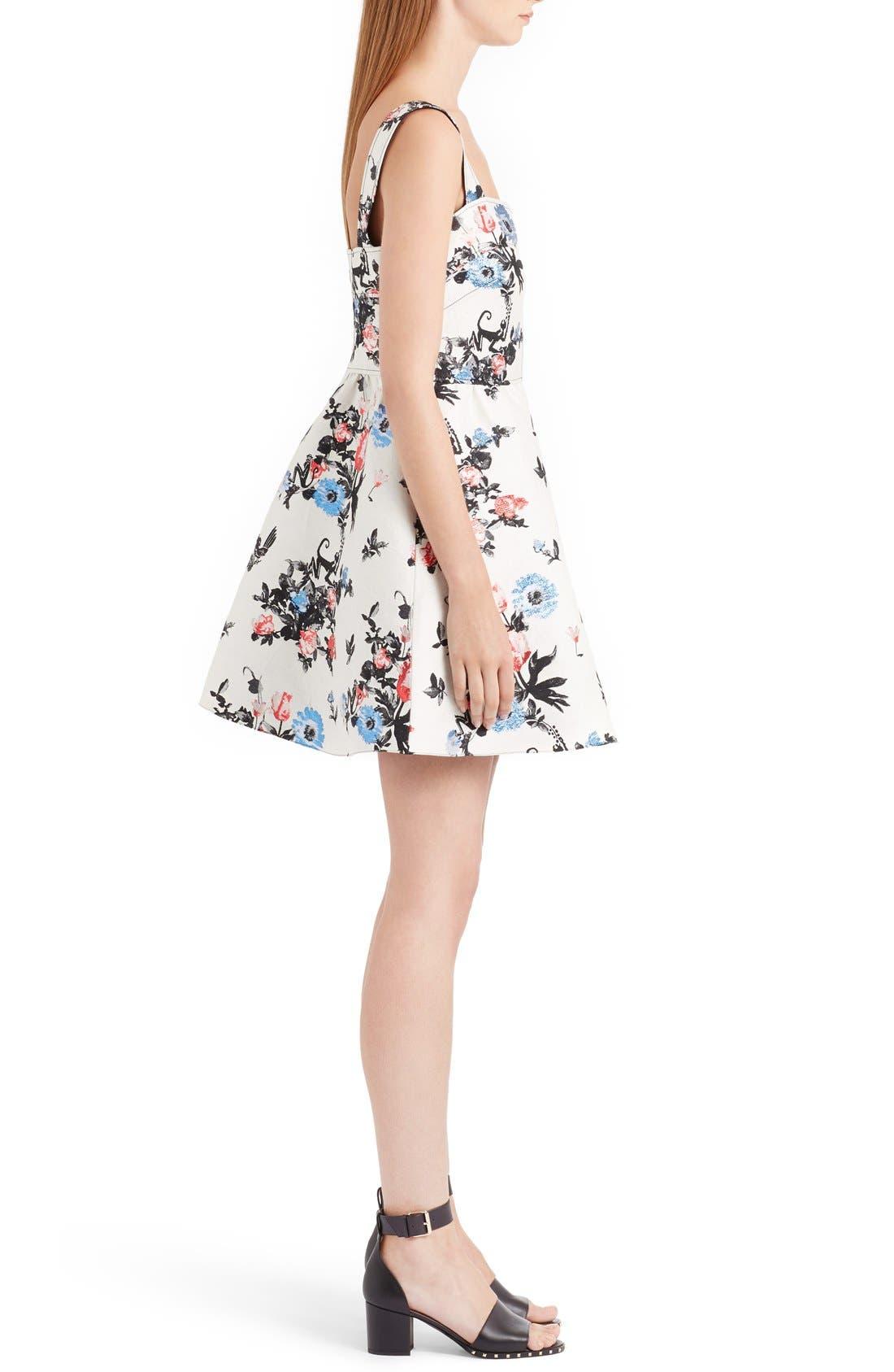 Alternate Image 4  - Valentino Enchanted Jungle Brocade Dress