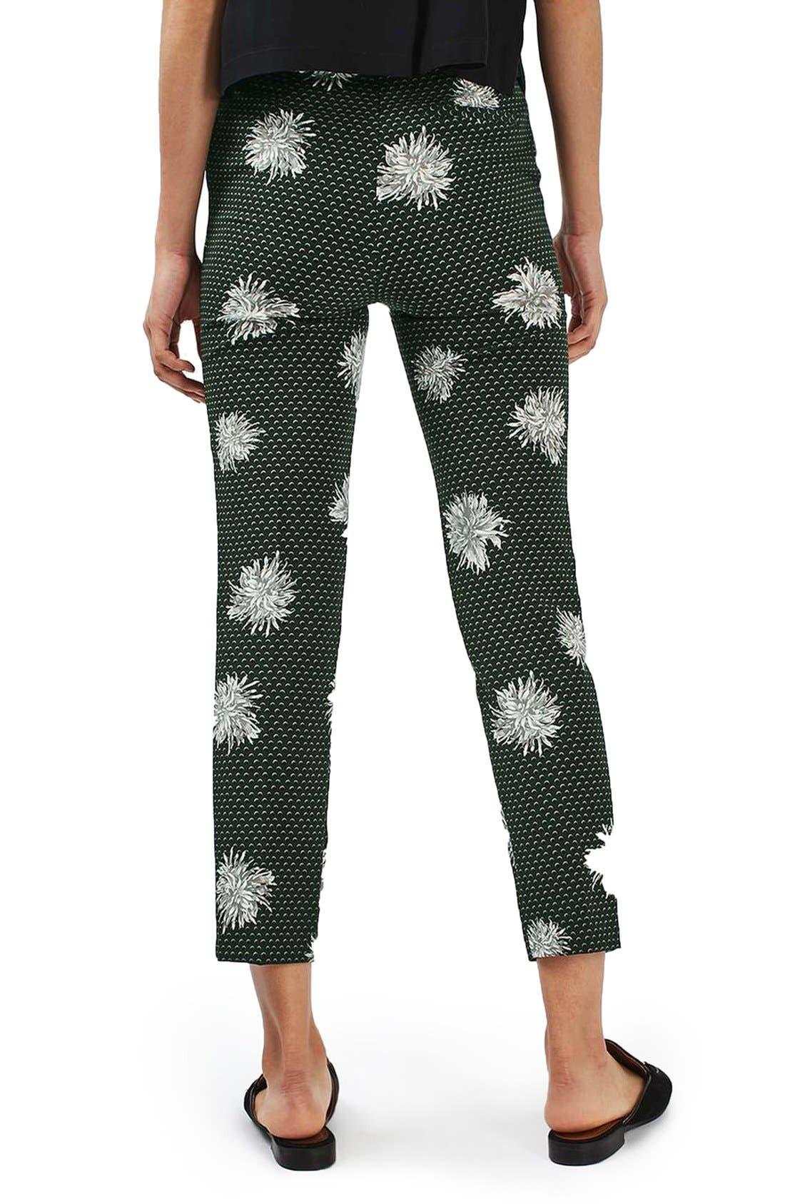 Alternate Image 3  - Topshop Floral Spot Pants
