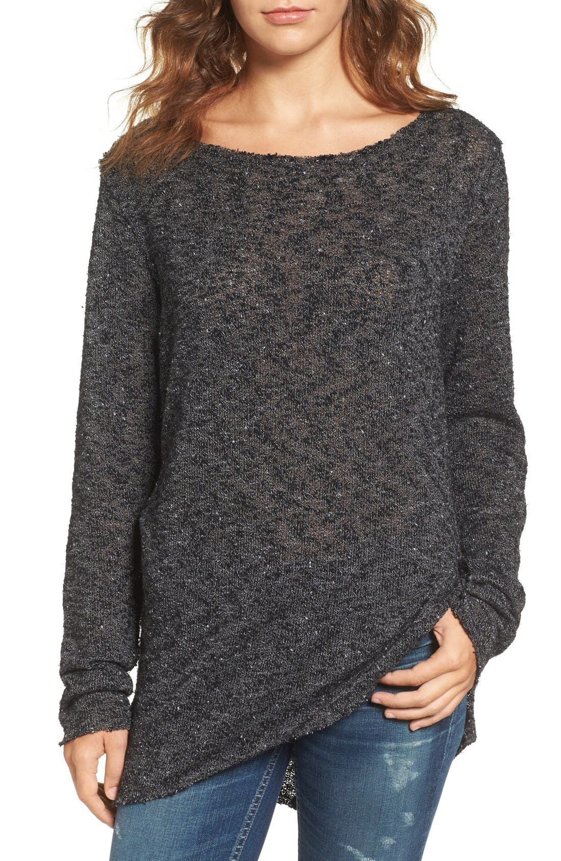 Main Image - Strom Carr Asymmetrical Tunic Sweater