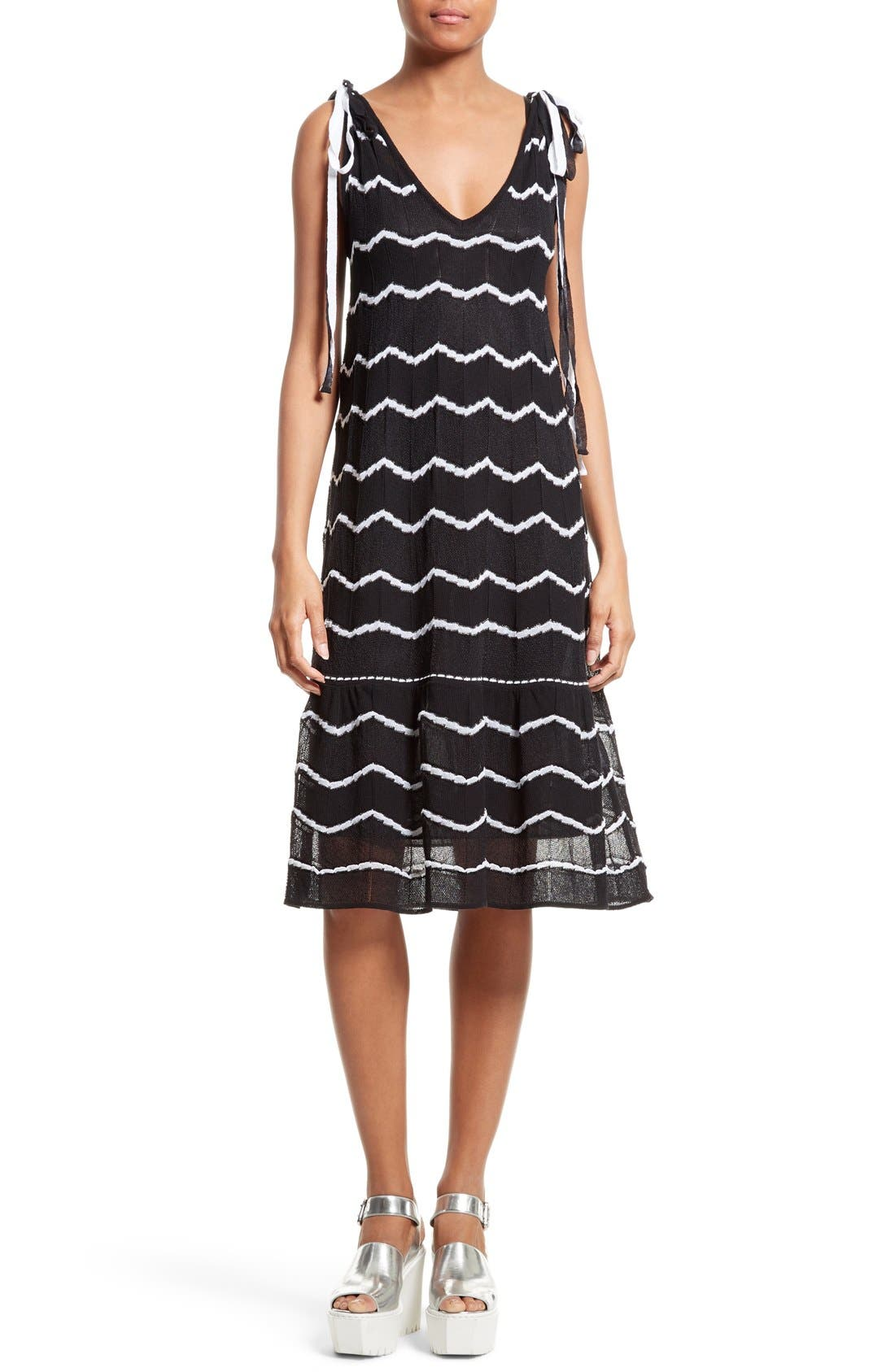 M Missoni Knit Midi Dress