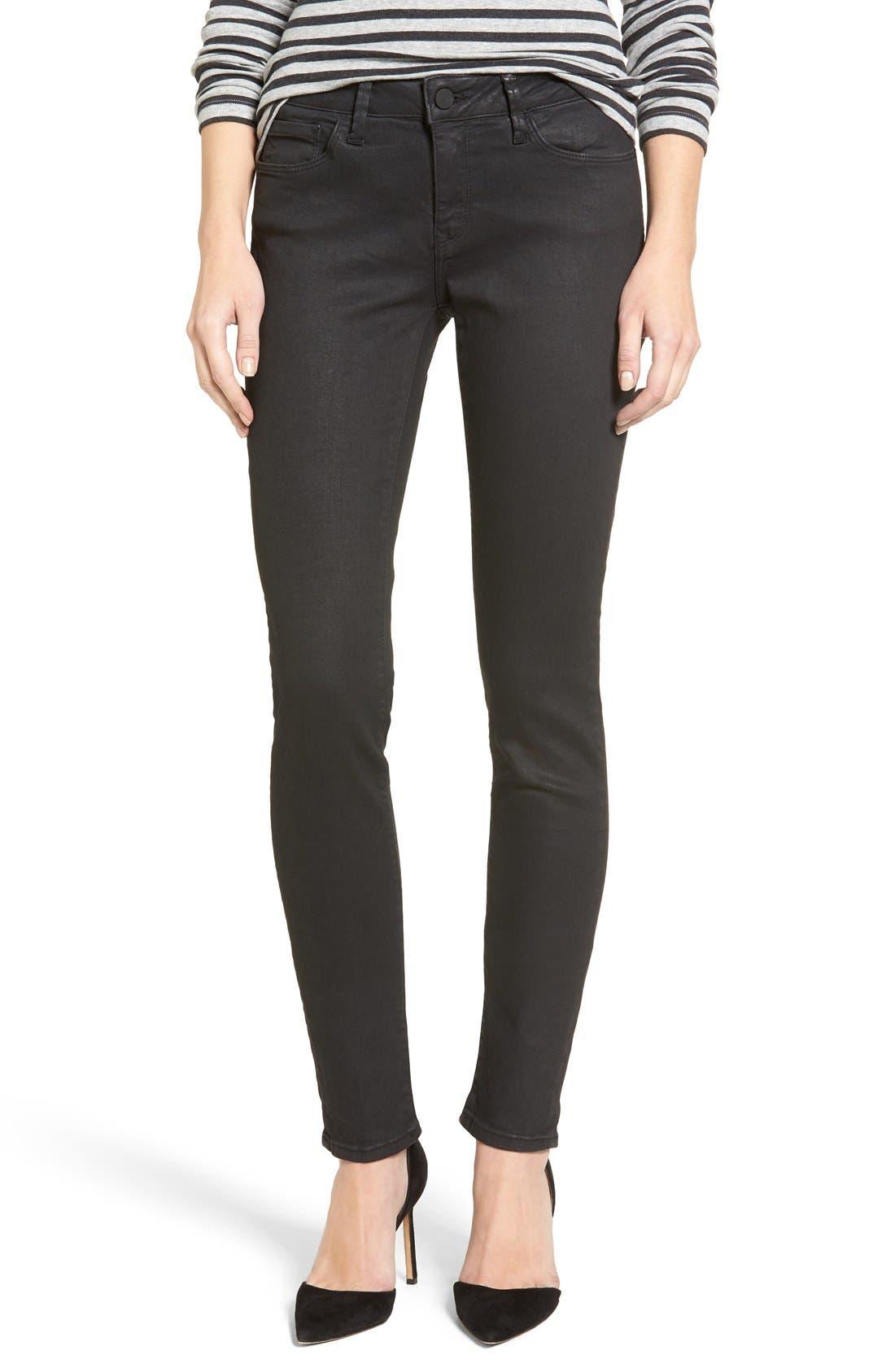 Mavi Jeans Gold Adriana Coated Super Skinny Jeans