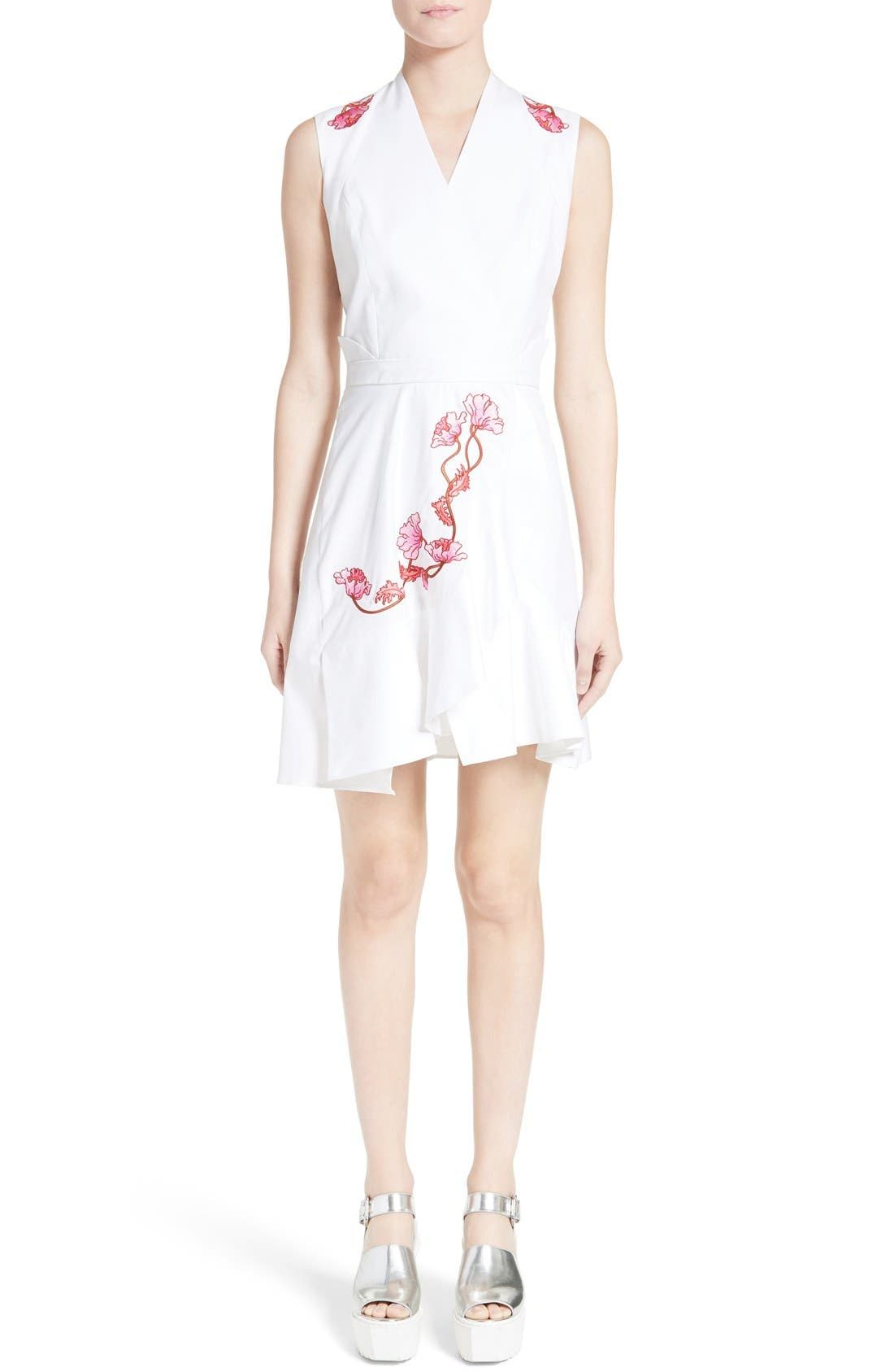 Main Image - Carven Embroidered Dress