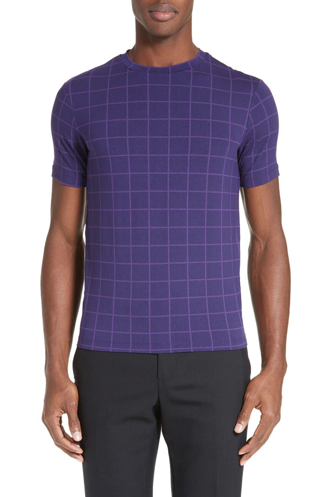 ARMANI COLLEZIONI Trim Fit Box Print T-Shirt